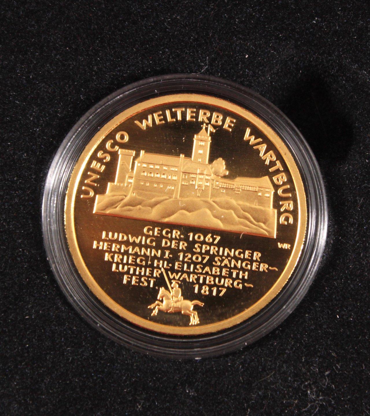 BRD 2011 G, 100 Euro – Goldmünze