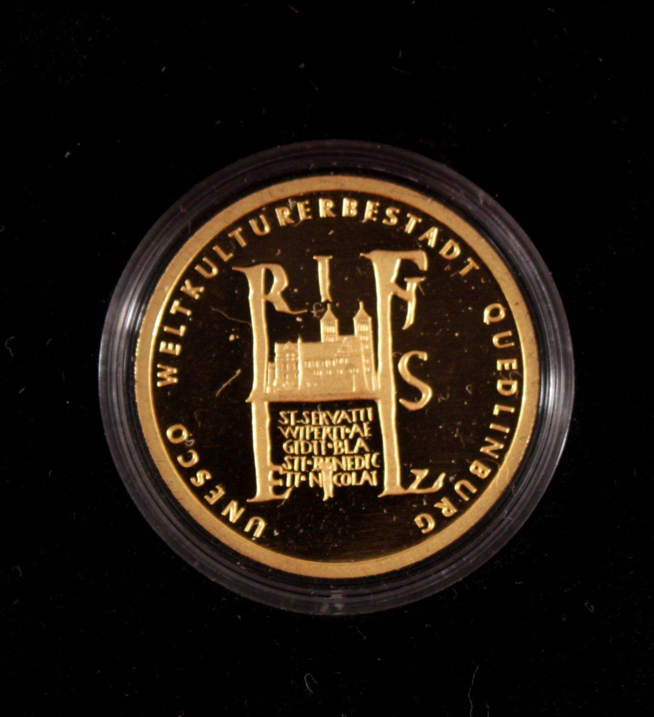 BRD 2003 F, 100 Euro – Goldmünze