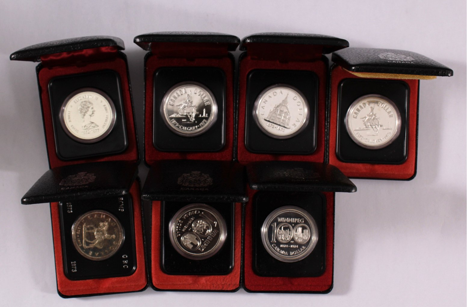 Sammlung Silbermünzen Kanada