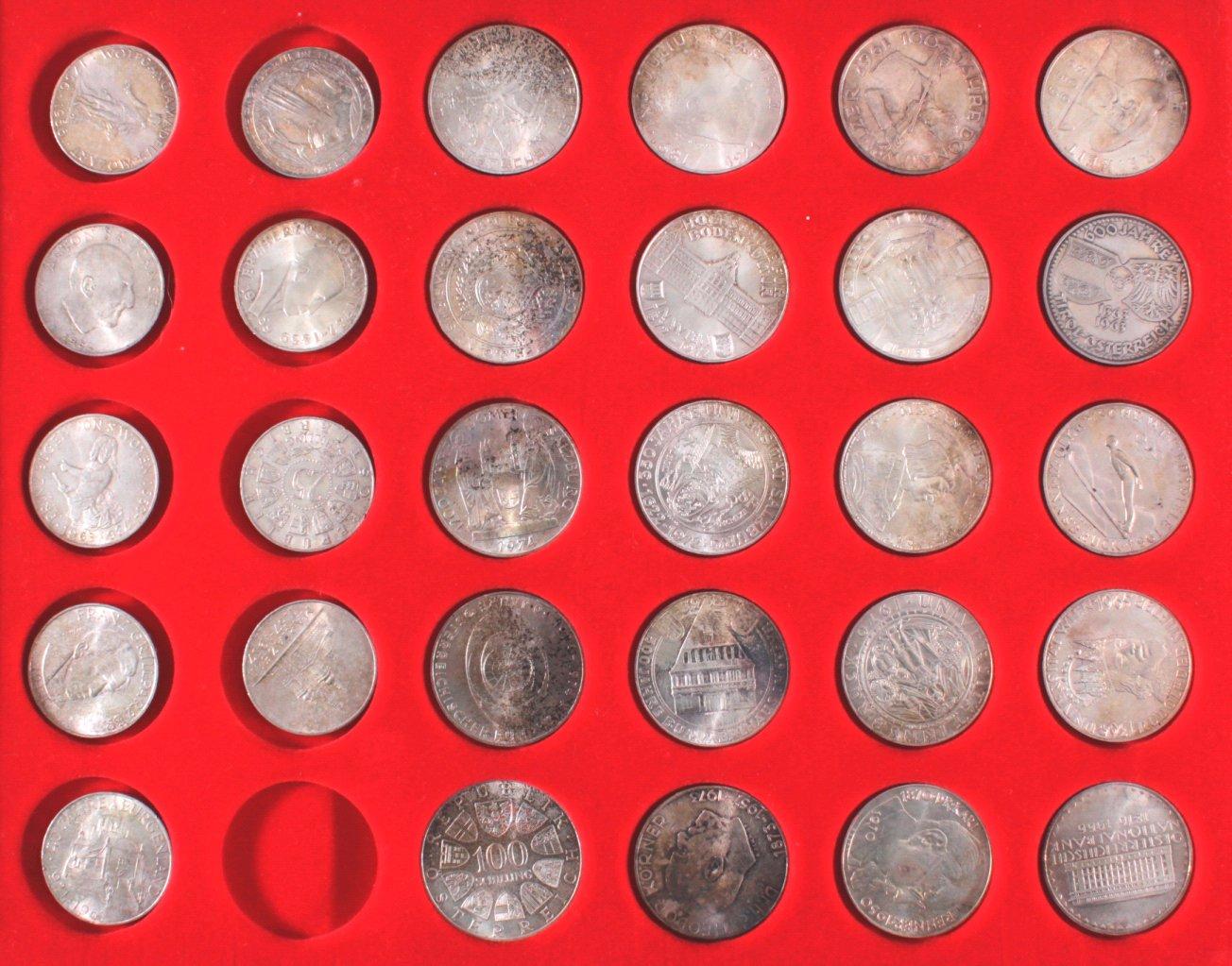 Österreich Silbermünzen