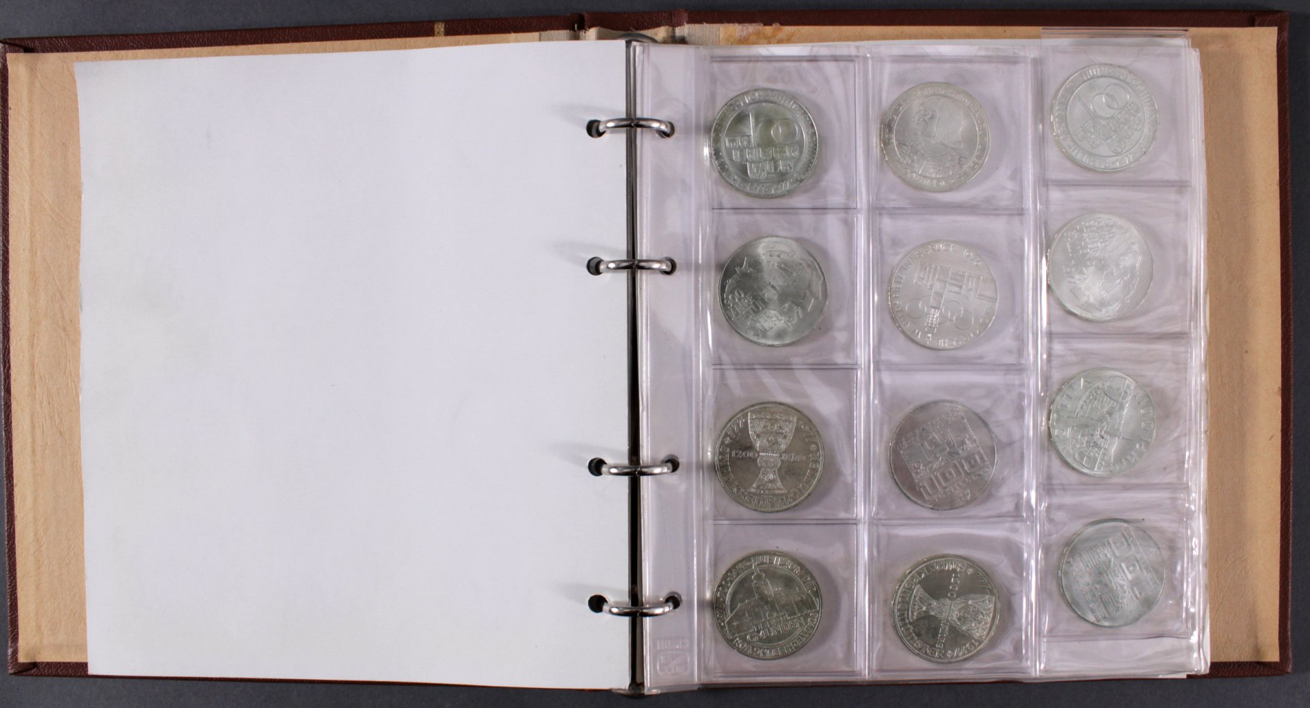 Sammlung 100 Schilling Silbermünzen