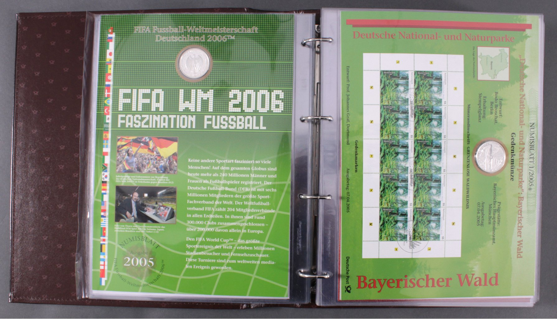 Numisbriefe BRD 2004-2008