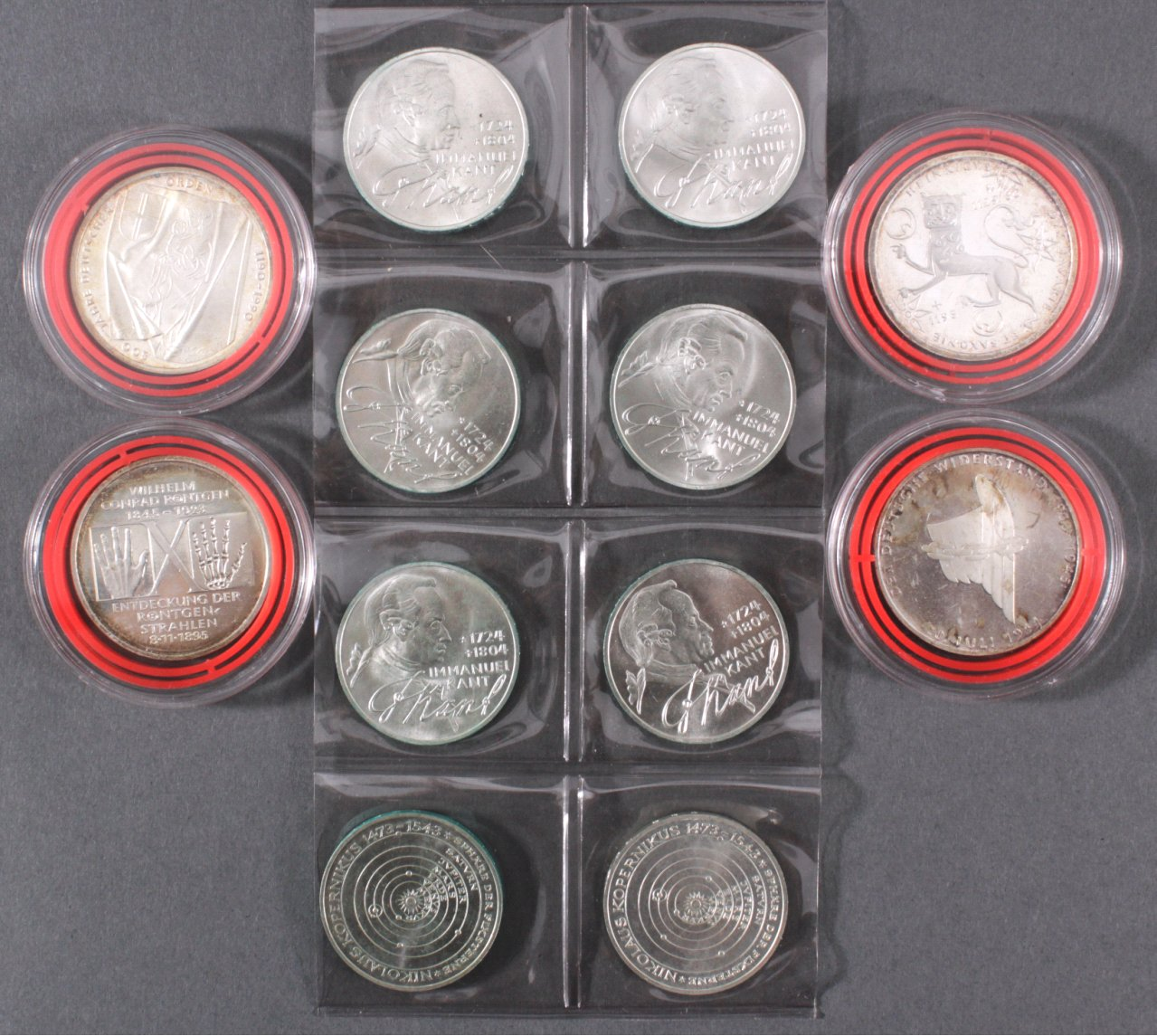 Kleine Sammlung Silbermünzen BRD