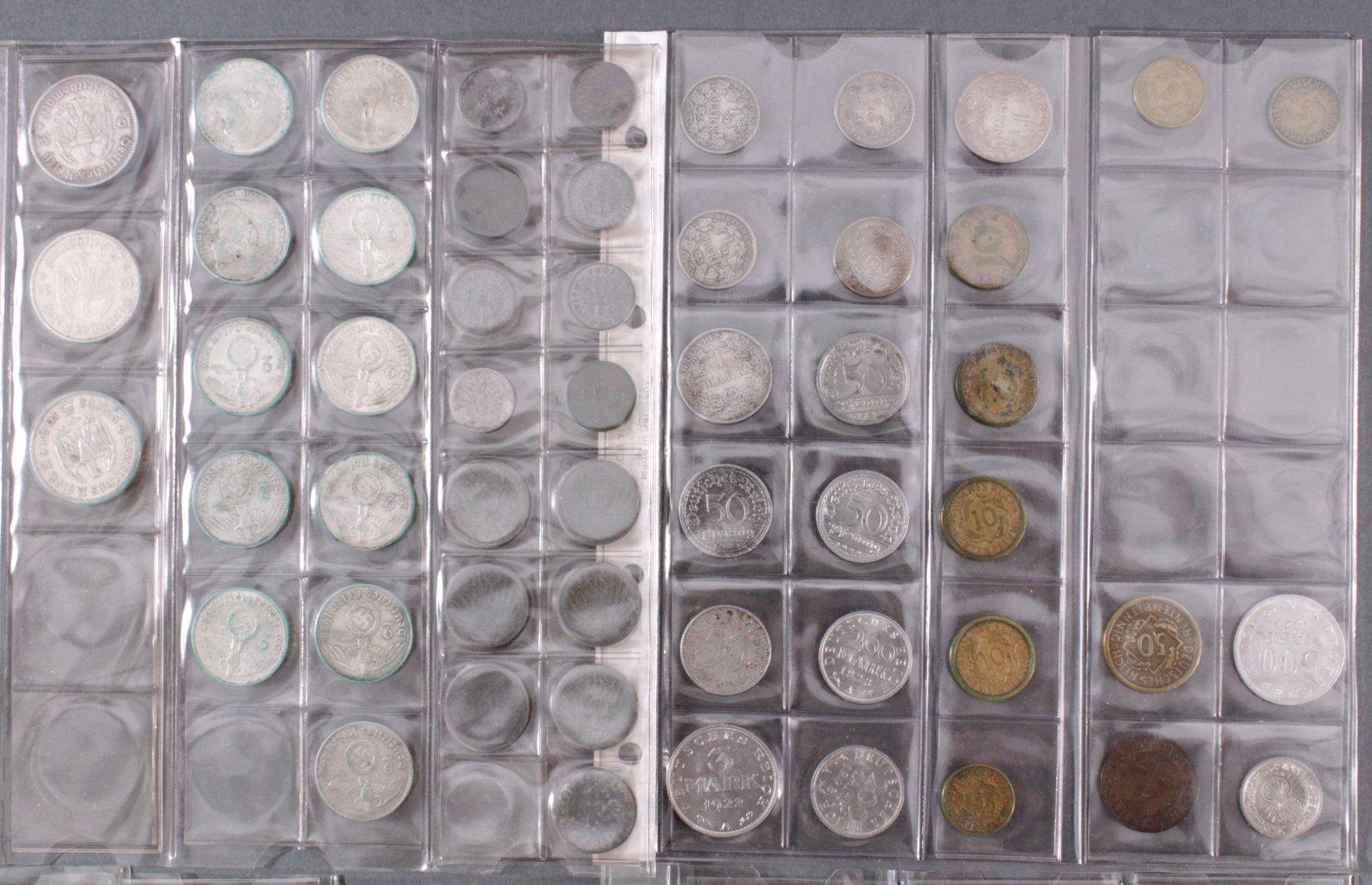 Kleine Sammlung Münzen, Deutsches Reich-2