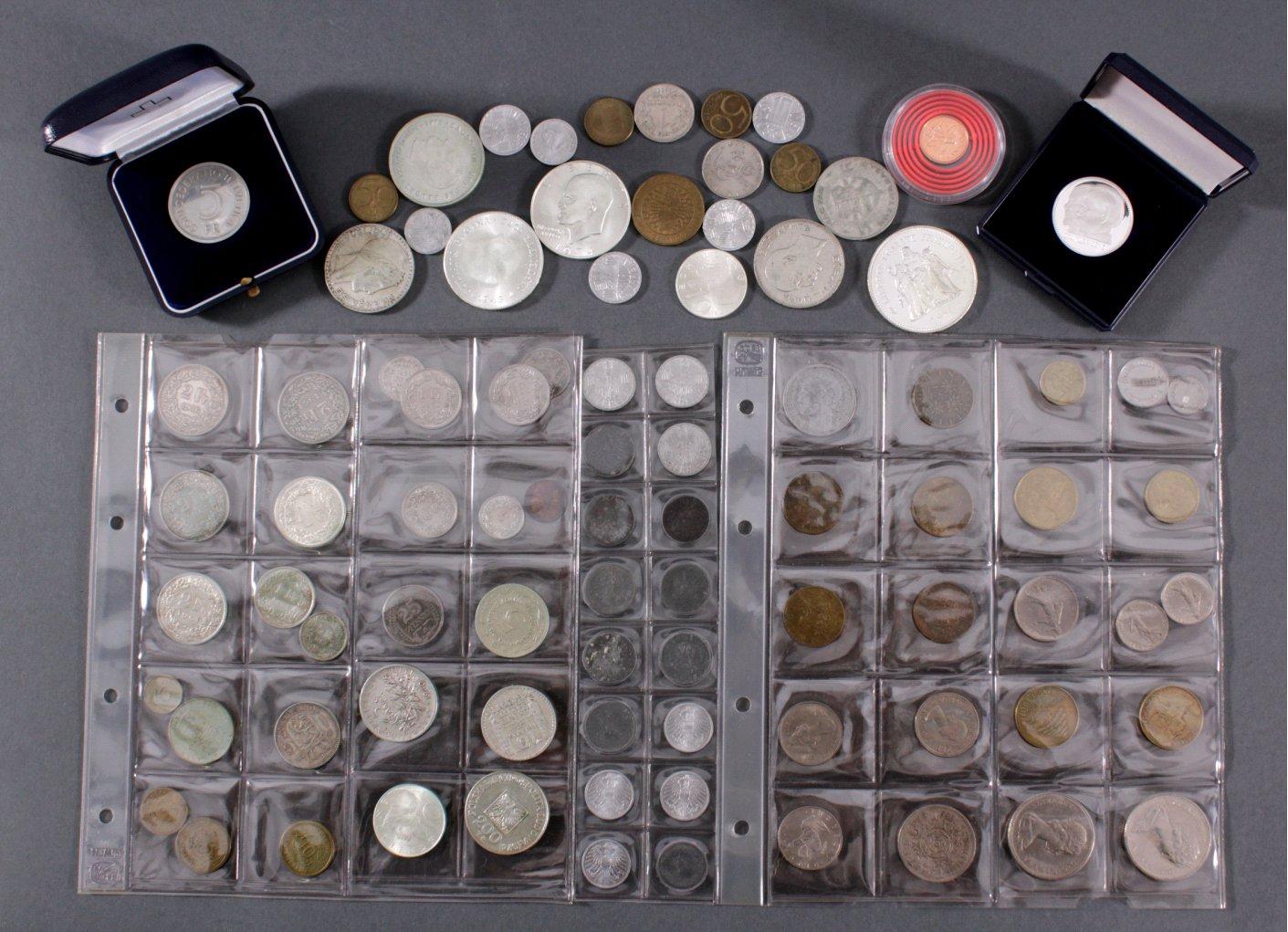 """Konvolut Münzen und Medaillen """"Alle Welt"""""""