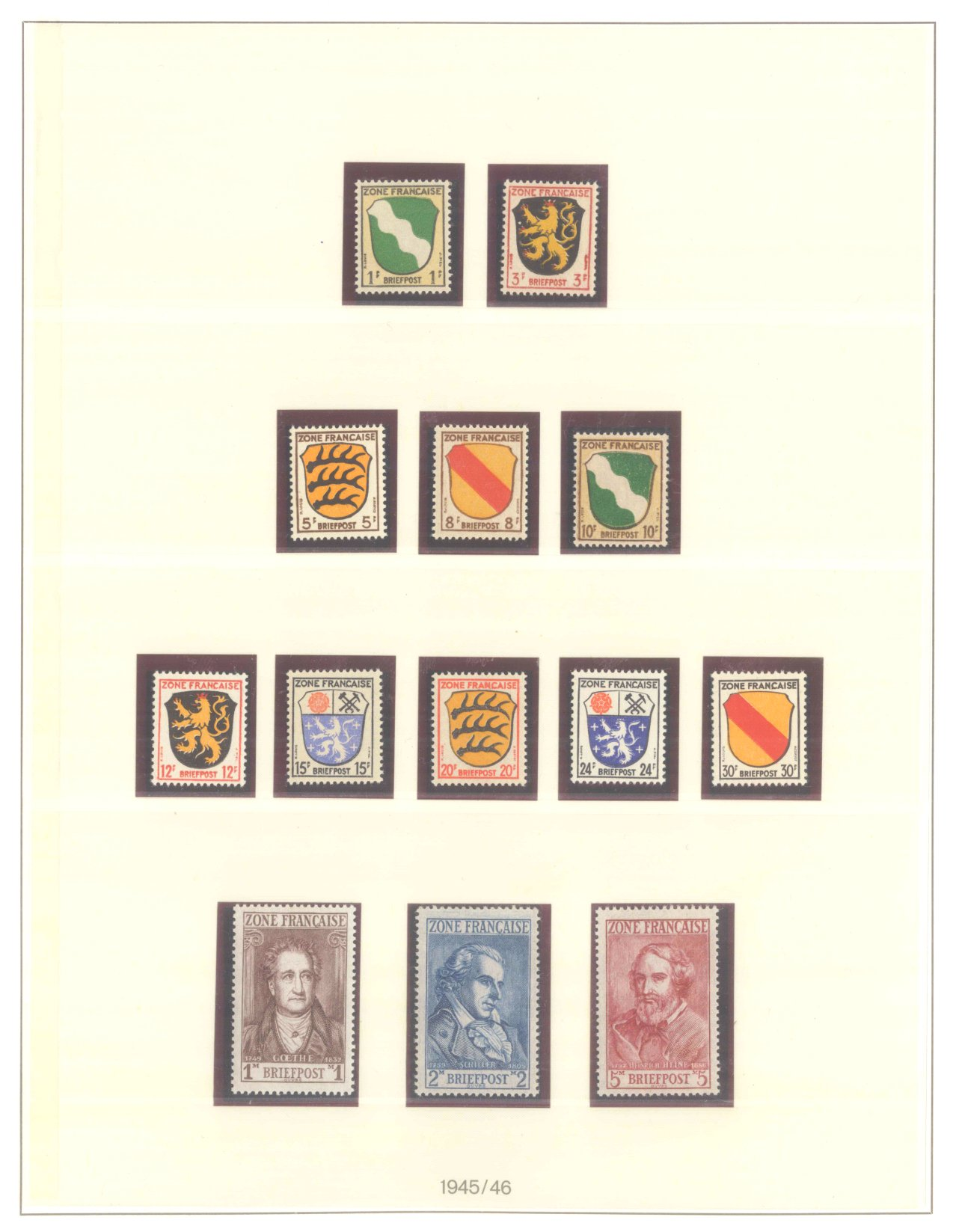 FRANZÖSISCHE ZONE BADEN 1947-1949-3