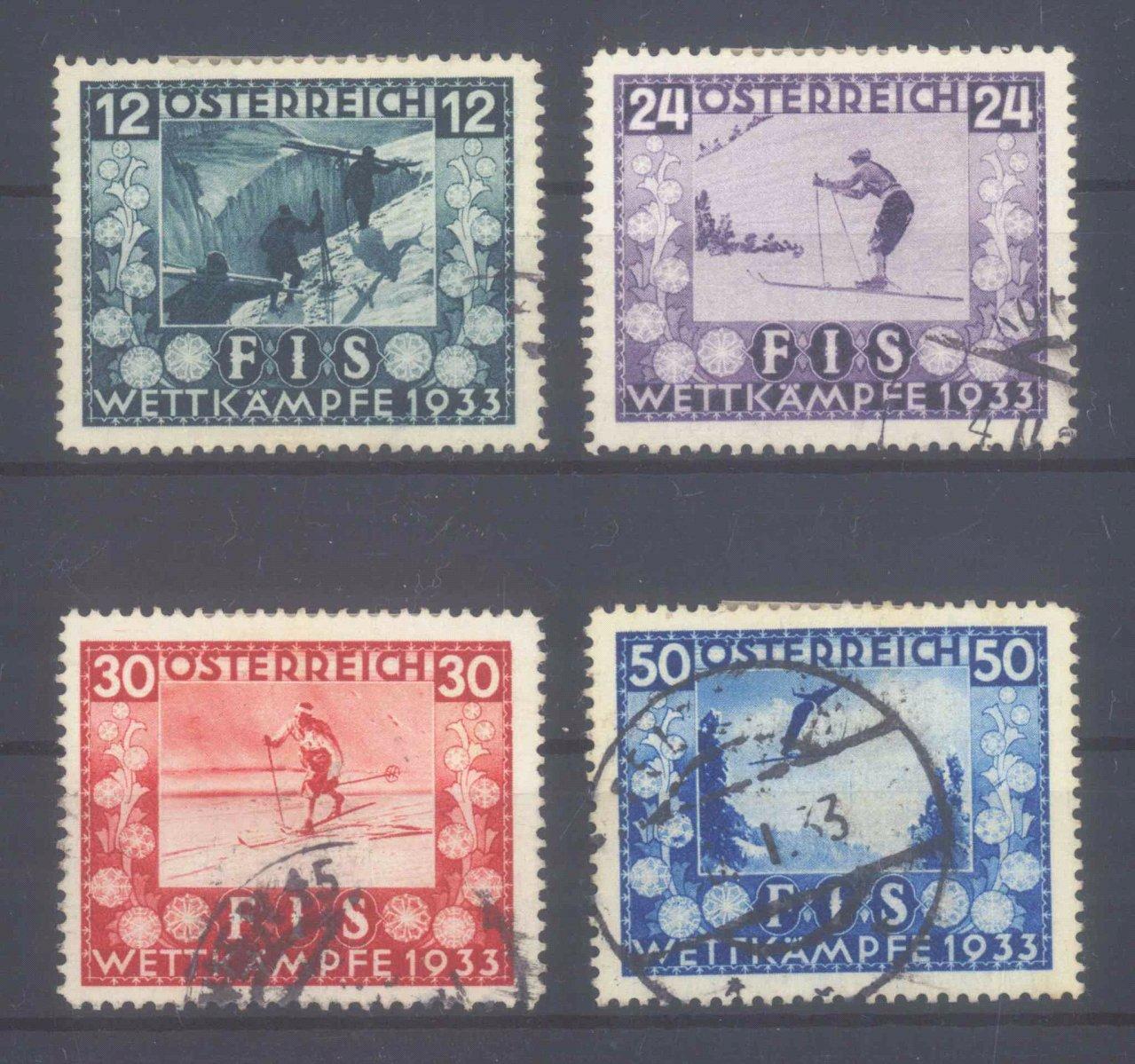 ÖSTERREICH 1933, Jugendwohlfahrt: FIS – INNSBRUCK