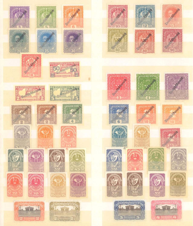 ÖSTERREICH 1918-1922