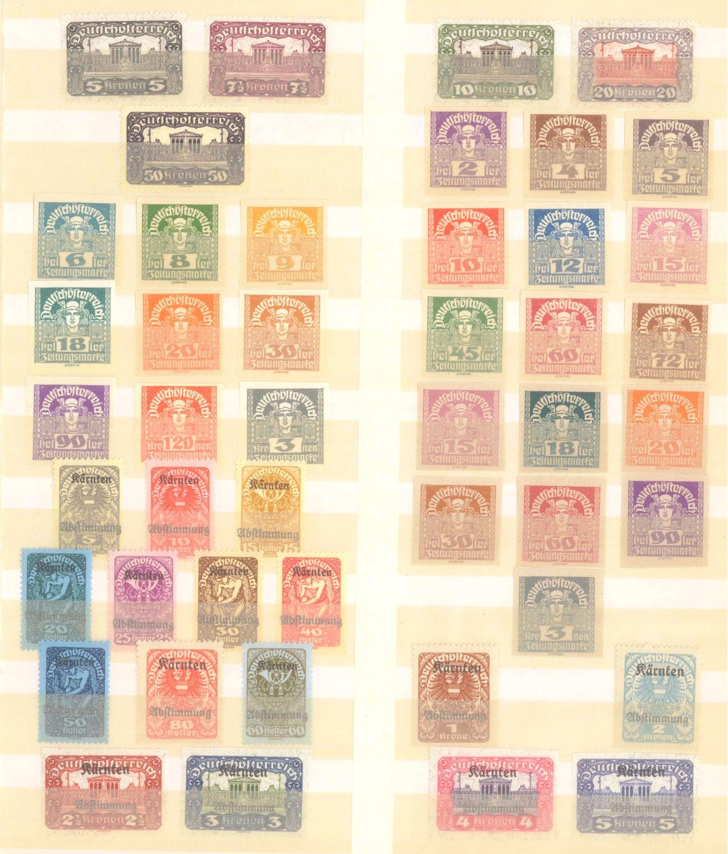 ÖSTERREICH 1918-1922-1