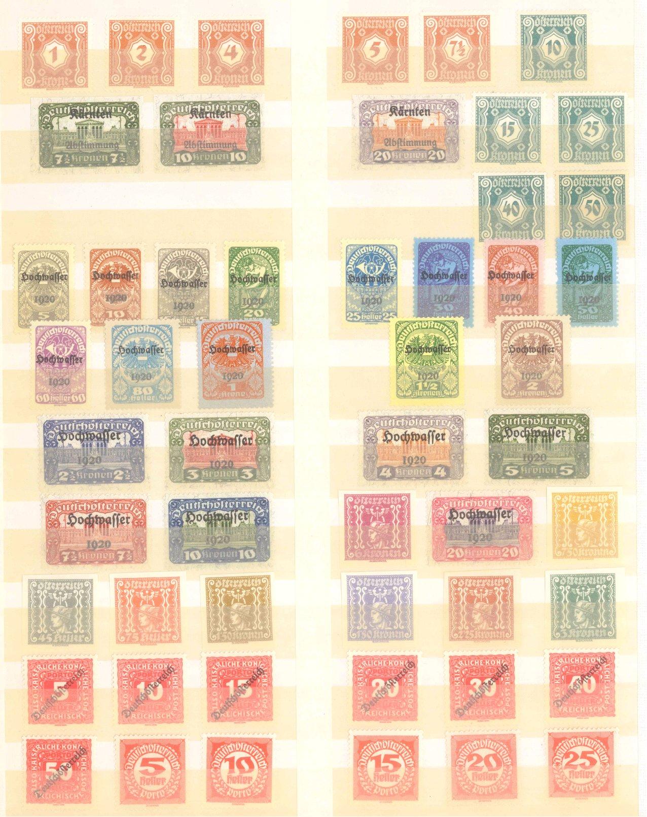 ÖSTERREICH 1918-1922-2