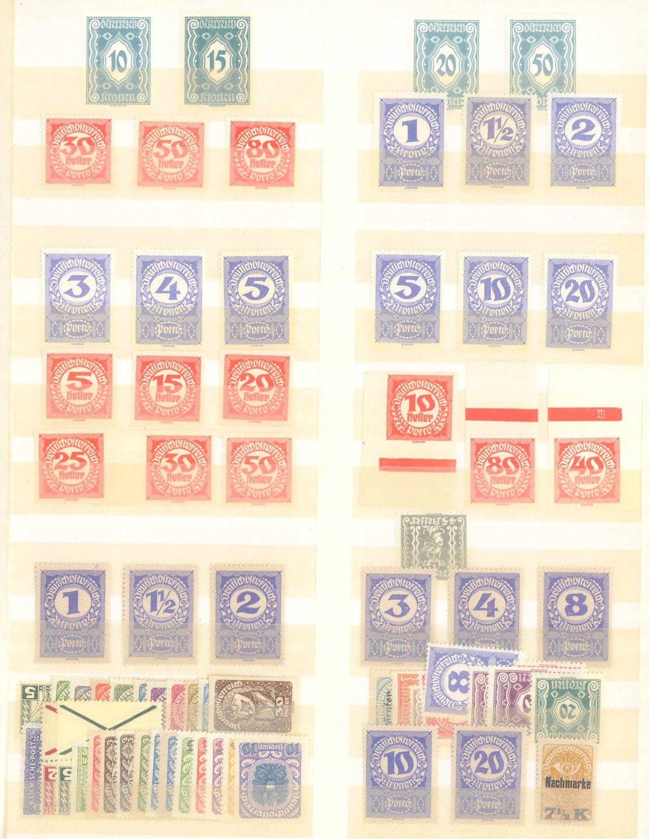 ÖSTERREICH 1918-1922-3