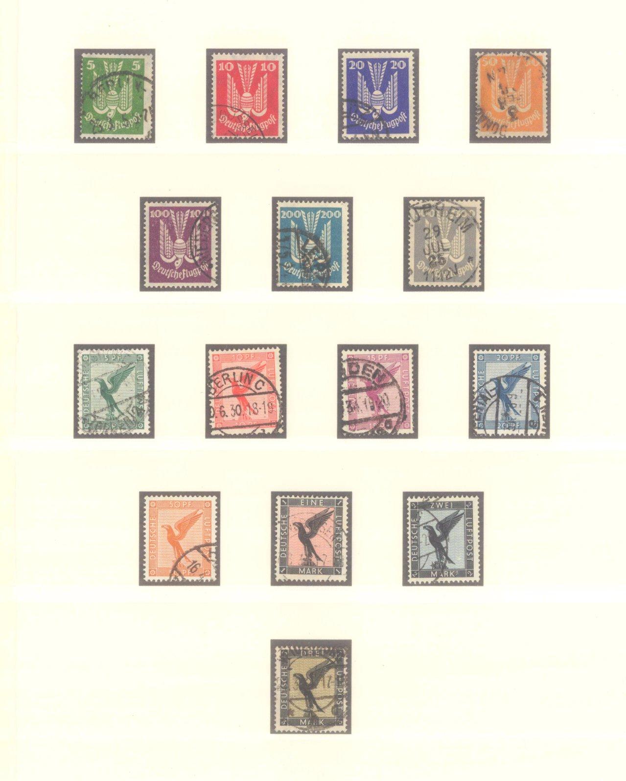 DEUTSCHES REICH – WEIMARER REPUBLIK 1923-1933