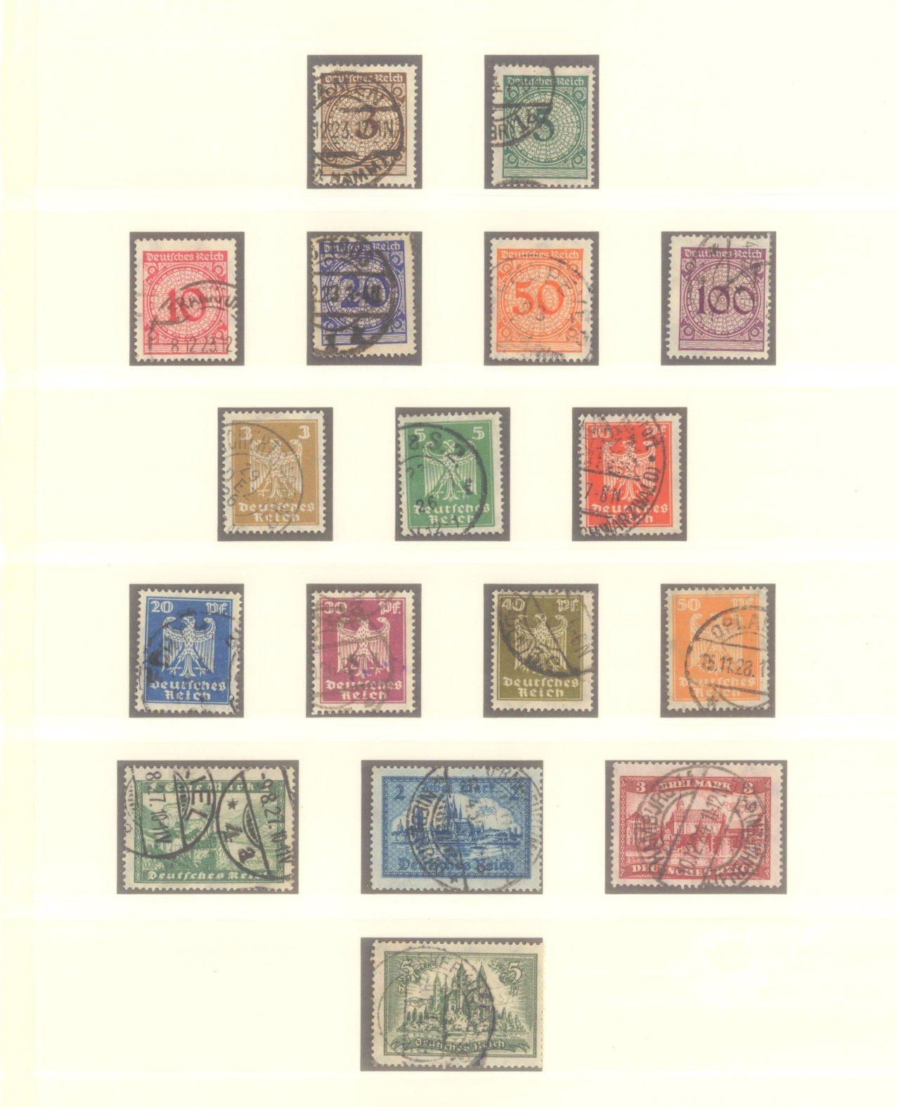 DEUTSCHES REICH – WEIMARER REPUBLIK 1923-1933-2