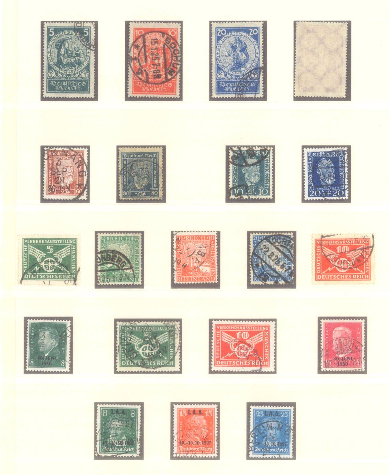 DEUTSCHES REICH – WEIMARER REPUBLIK 1923-1933-3