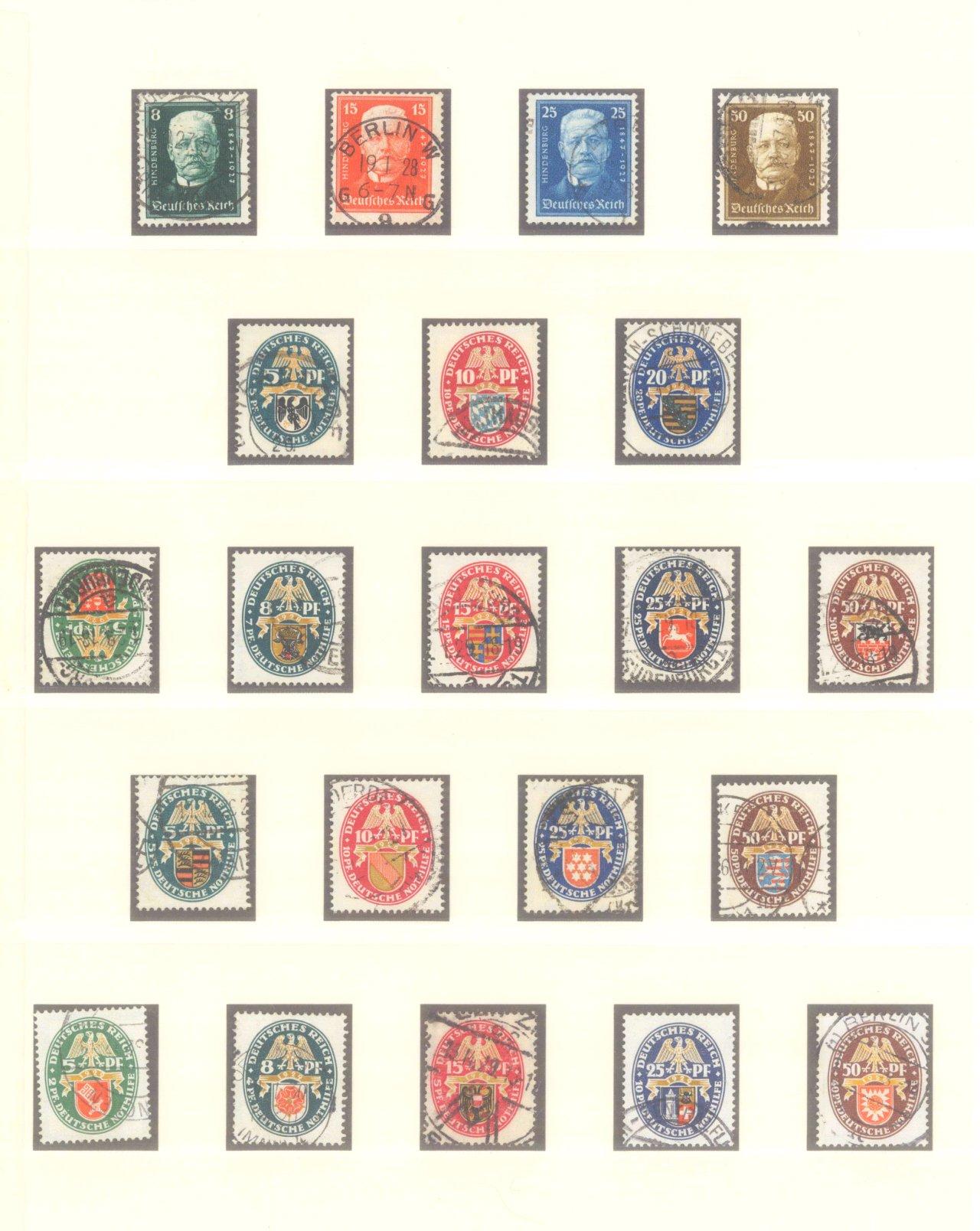 DEUTSCHES REICH – WEIMARER REPUBLIK 1923-1933-4