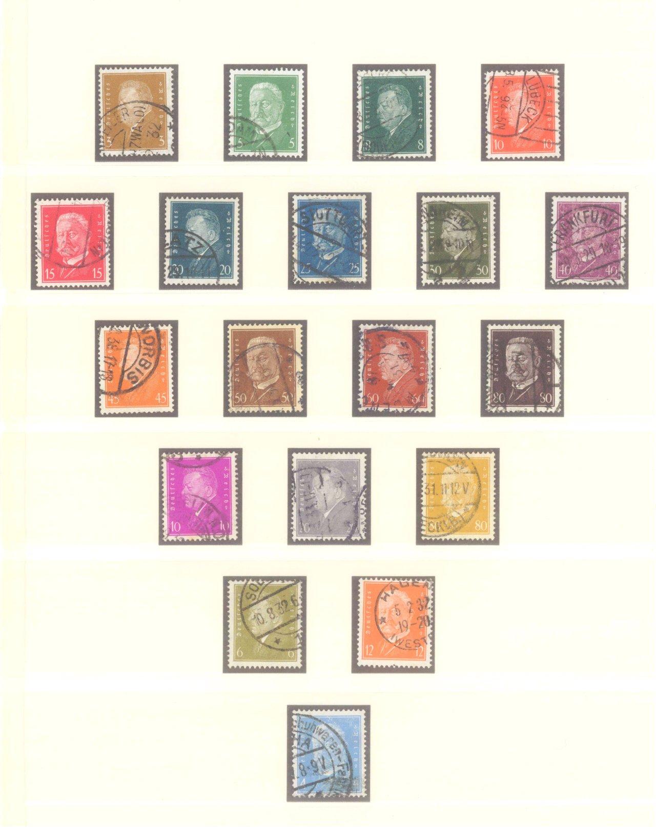 DEUTSCHES REICH – WEIMARER REPUBLIK 1923-1933-7