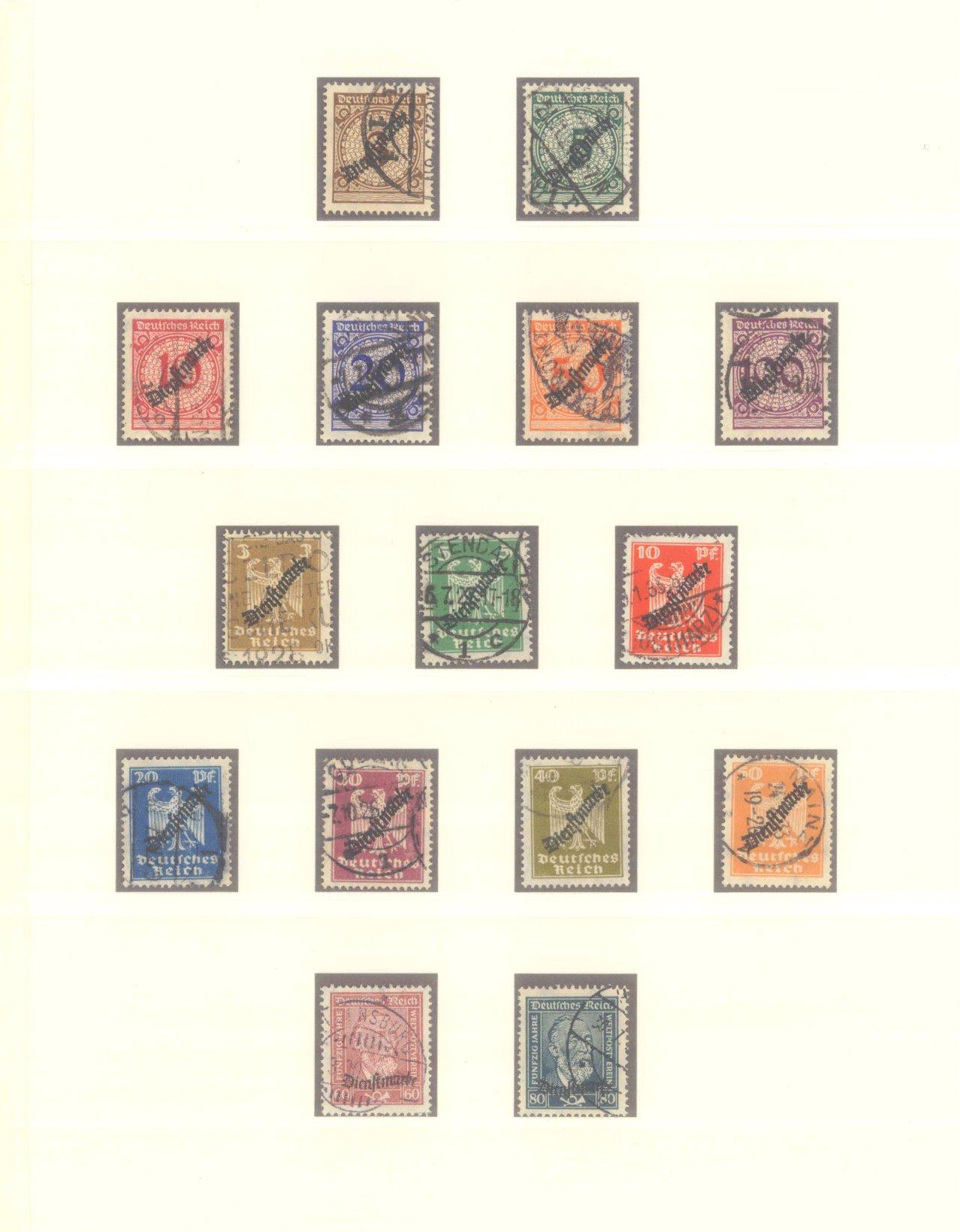 DEUTSCHES REICH – WEIMARER REPUBLIK 1923-1933-11