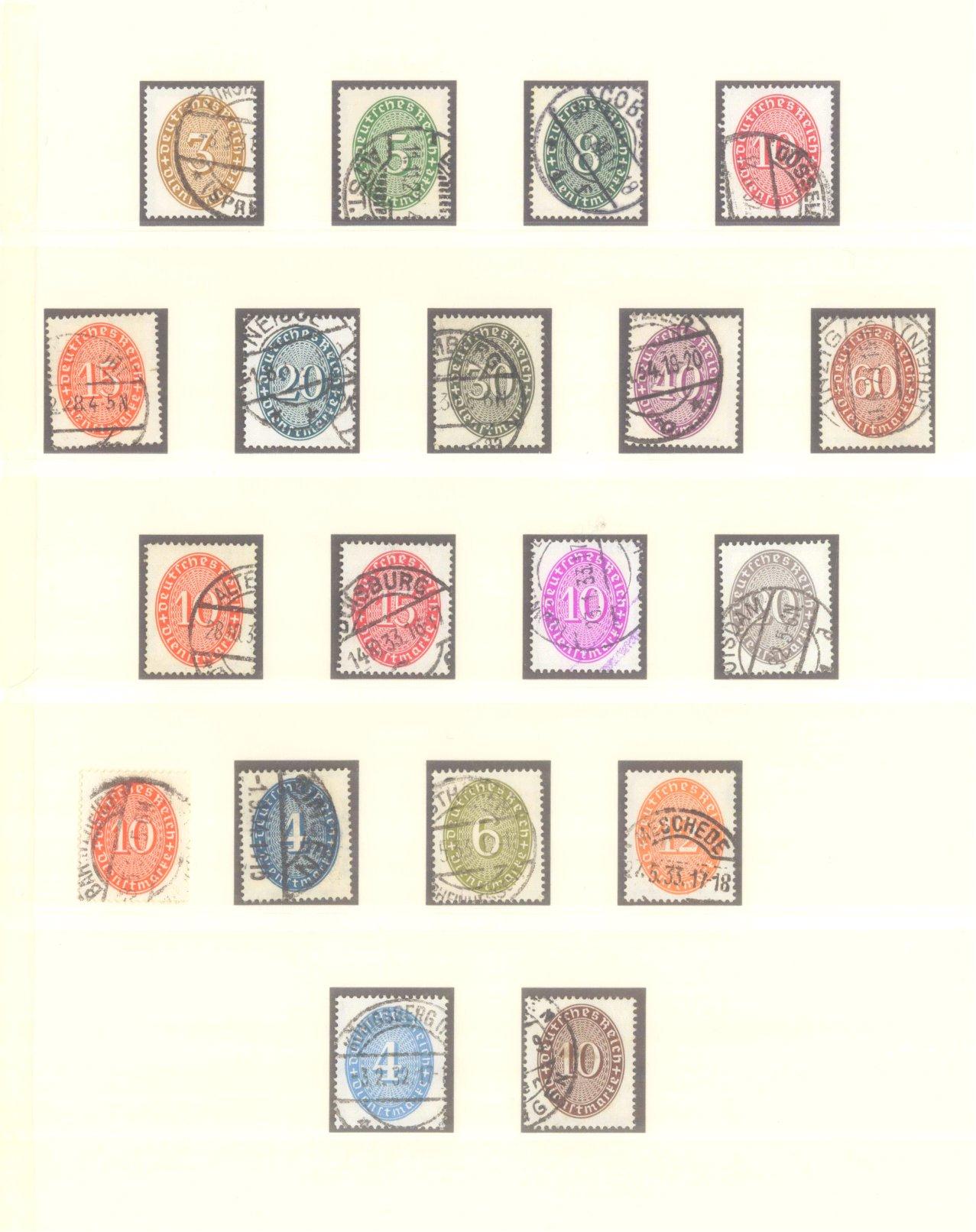DEUTSCHES REICH – WEIMARER REPUBLIK 1923-1933-12