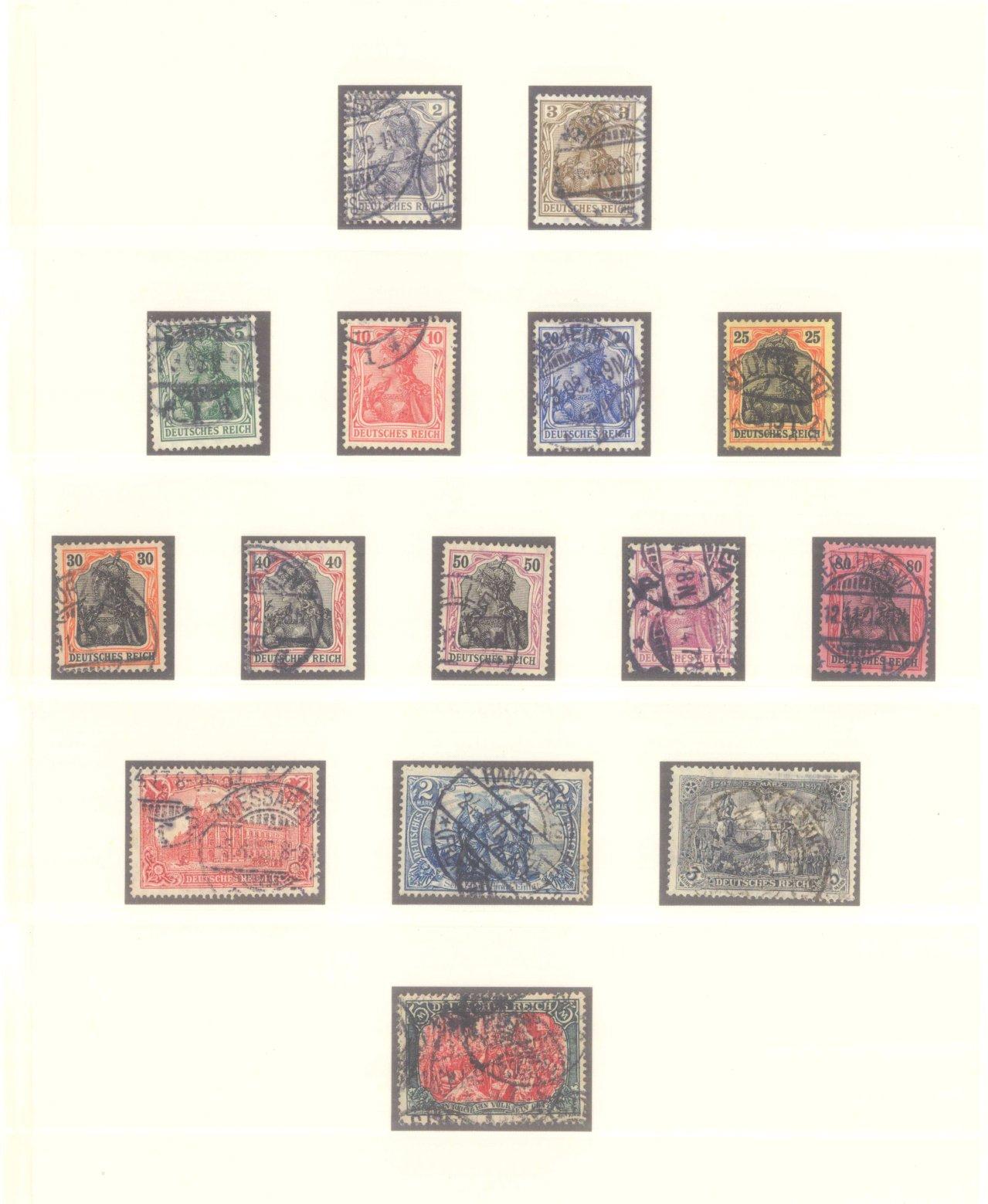 DEUTSCHES REICH – Kaiserreich 1875-1920-3