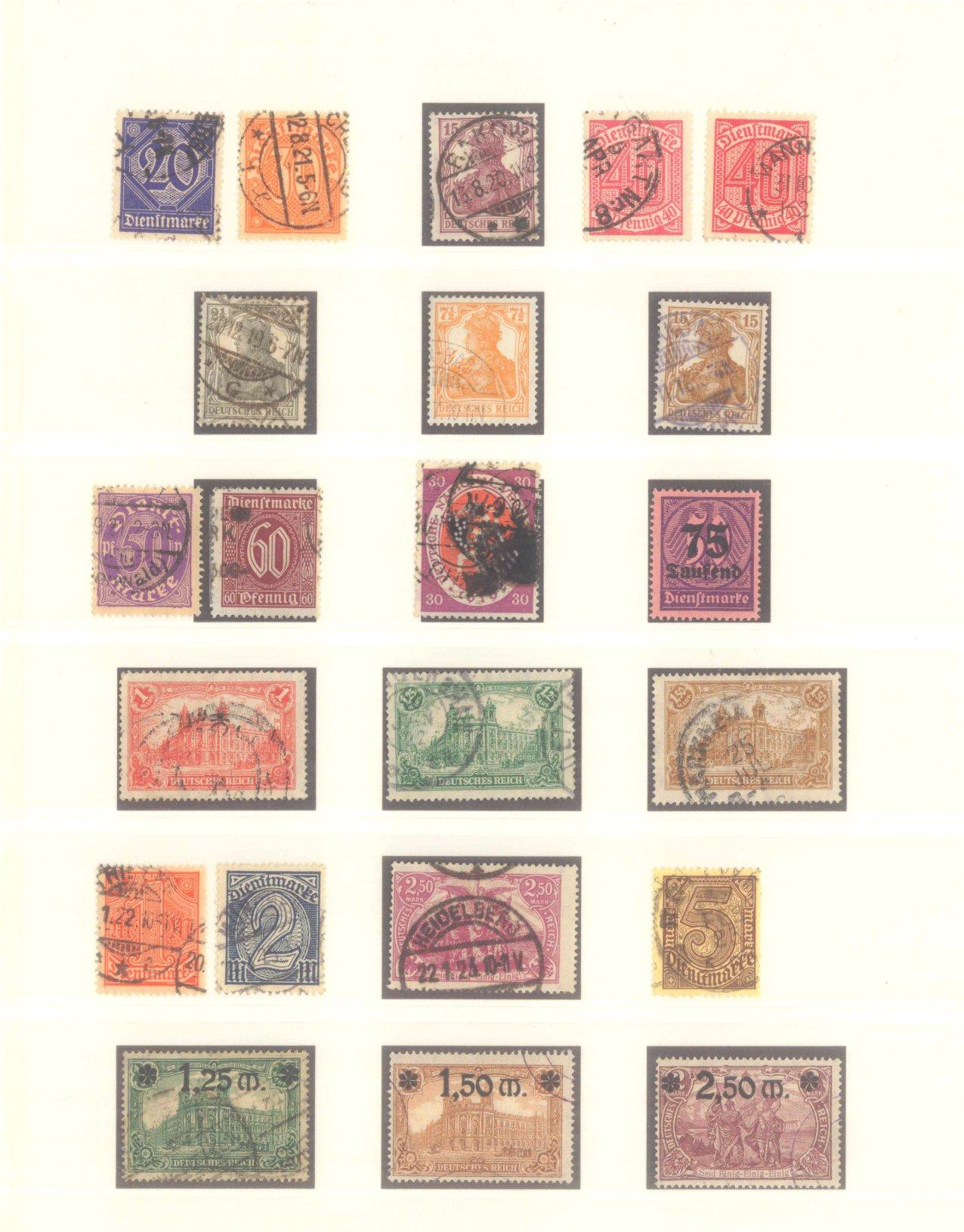 DEUTSCHES REICH – Kaiserreich 1875-1920-5
