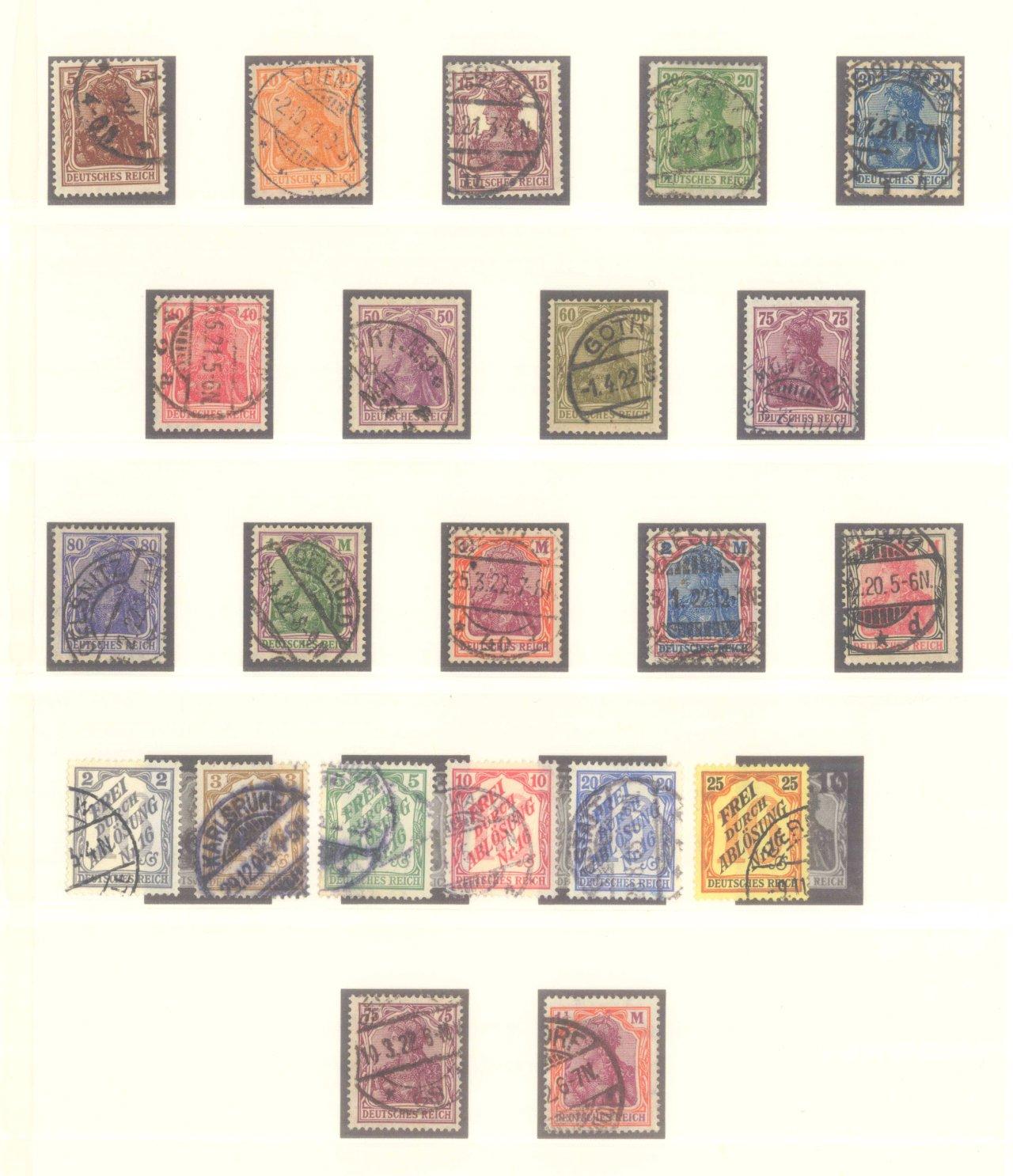 DEUTSCHES REICH – Kaiserreich 1875-1920-6