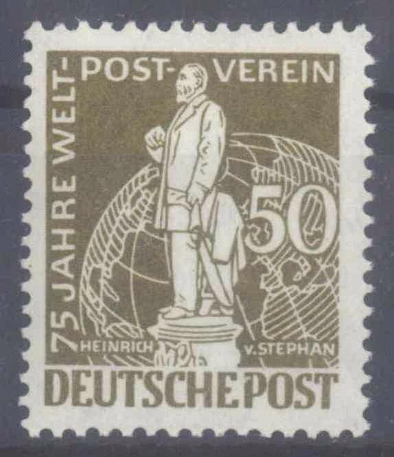 BERLIN 1949, Stephan / UPU, 50 Pfennig