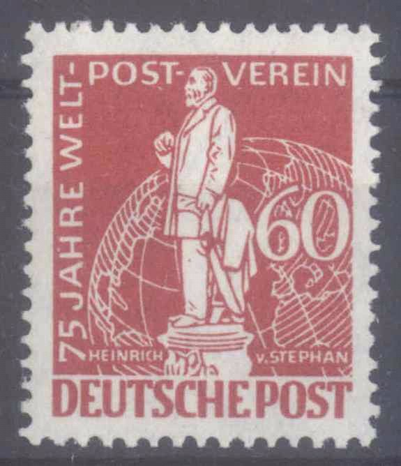 BERLIN 1949, Stephan / UPU, 60 Pfennig