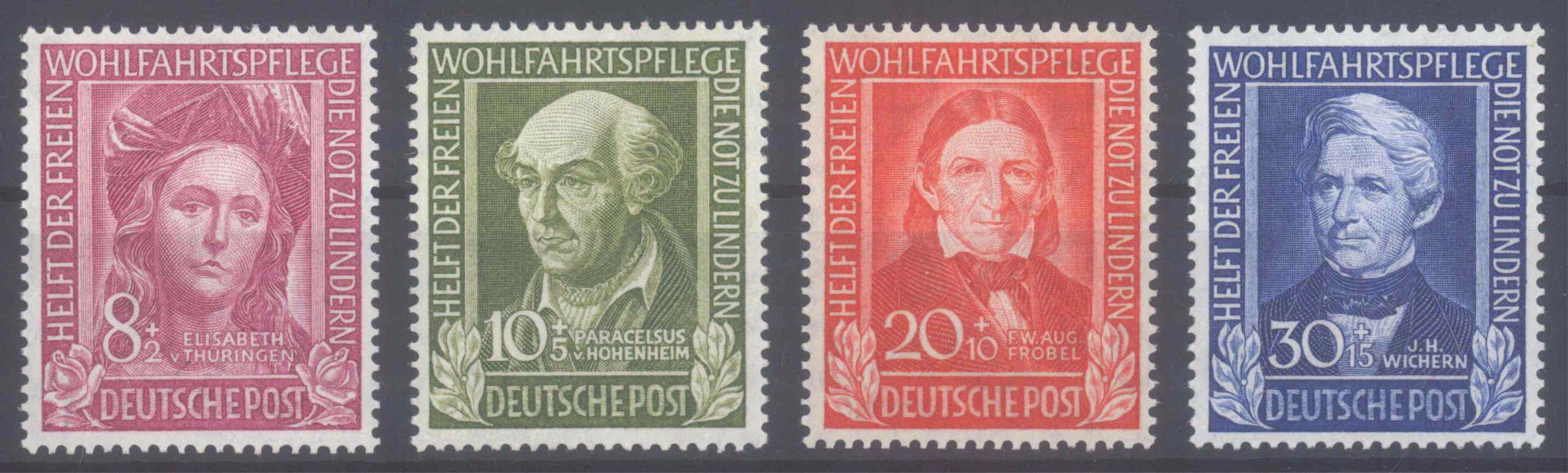 BUND 1949, Wohlfahrt