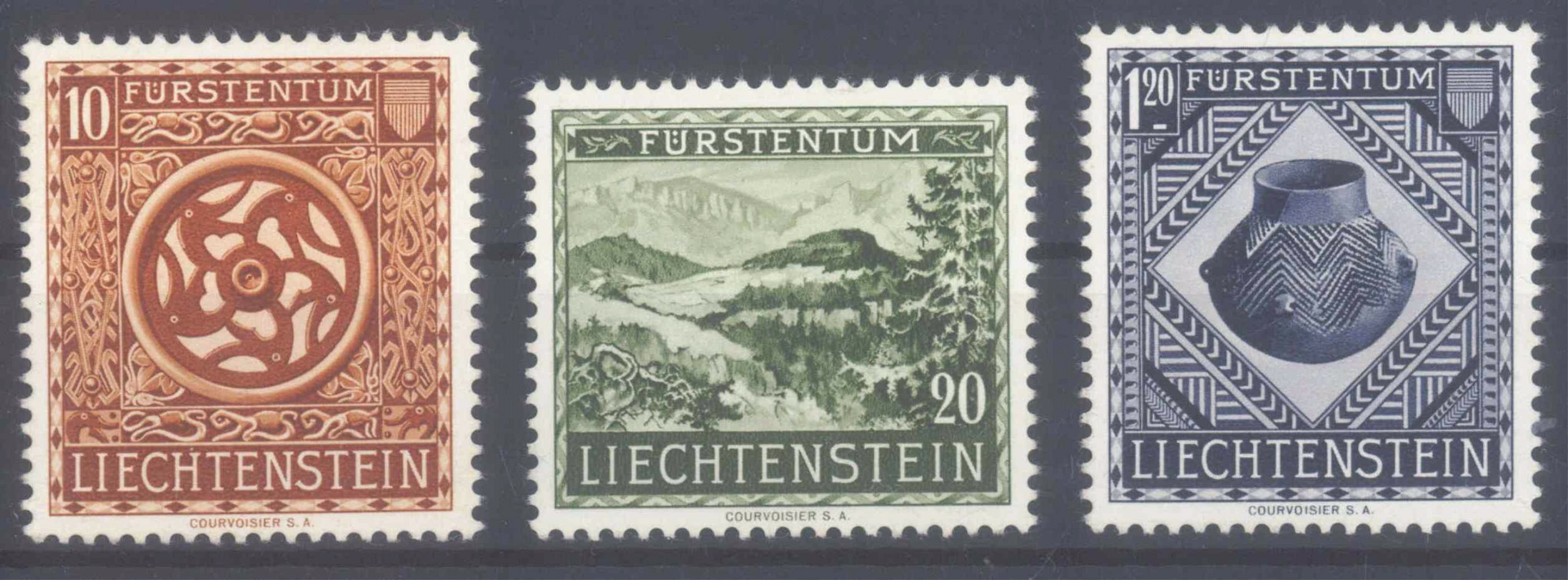 LIECHTENSTEIN 1953, Landesmuseum