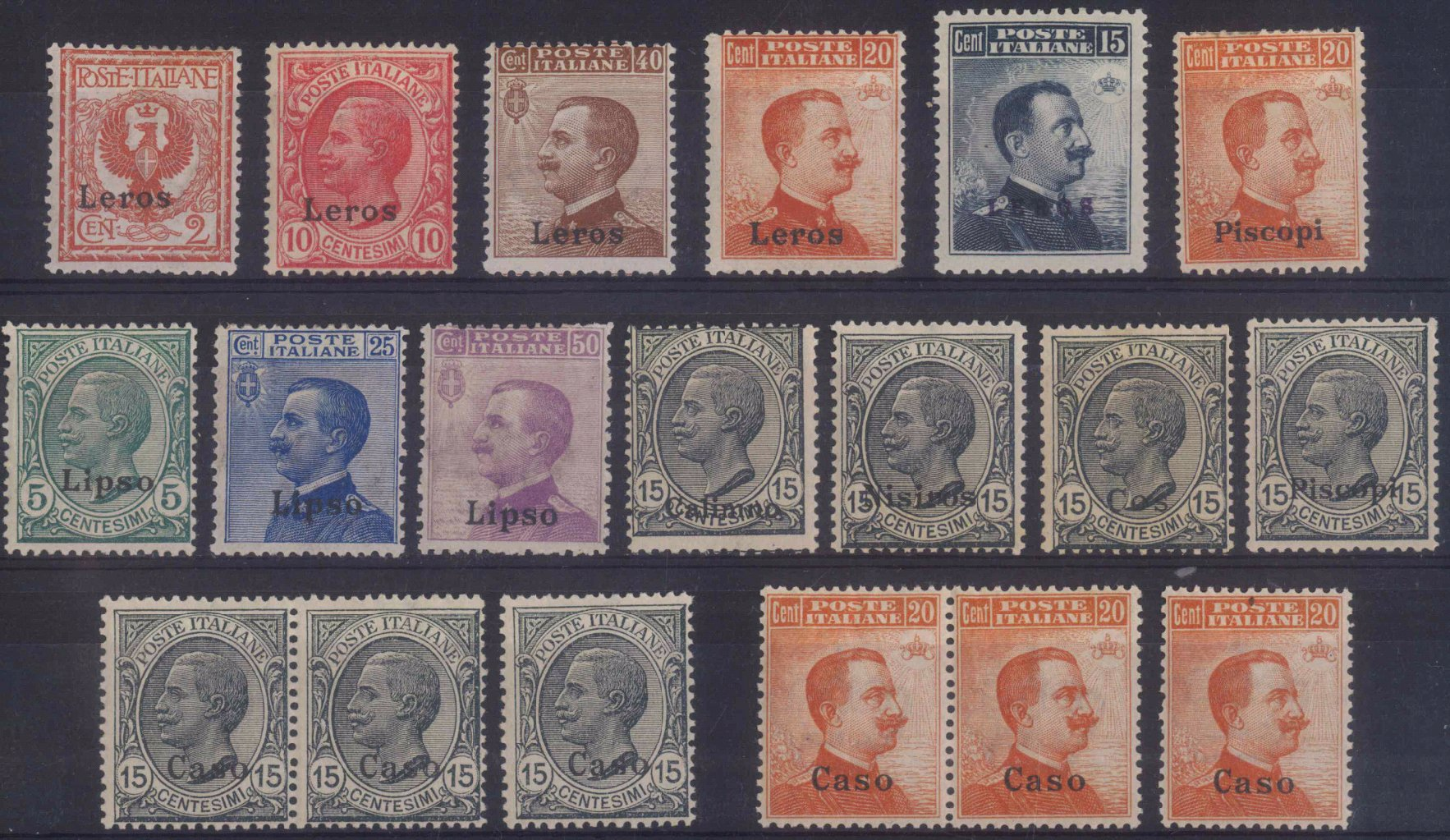 ÄGÄISCHE INSELN 1912