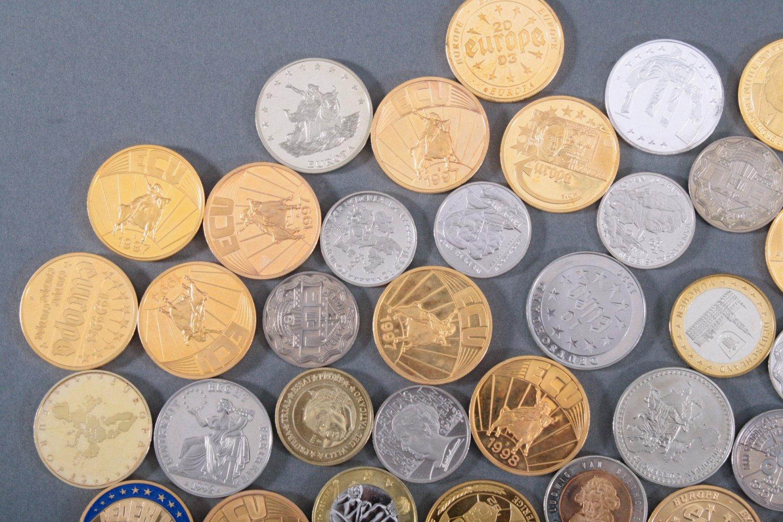 Konvolut Medaillen, Thema EURO / Europa-1