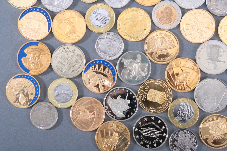 Konvolut Medaillen, Thema EURO / Europa-2