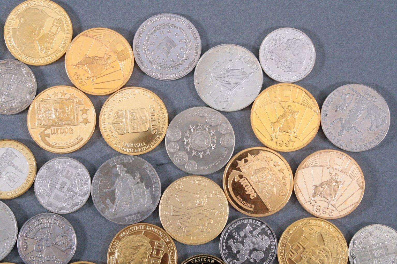 Konvolut Medaillen, Thema EURO / Europa-3