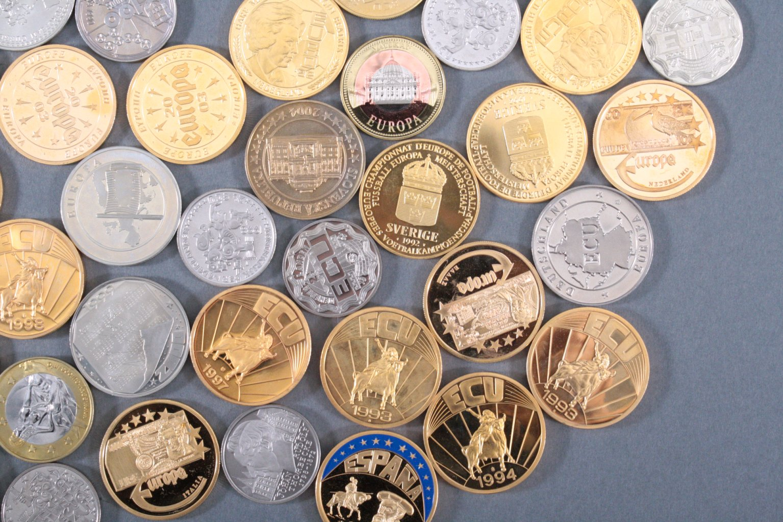 Konvolut Medaillen, Thema EURO / Europa-4