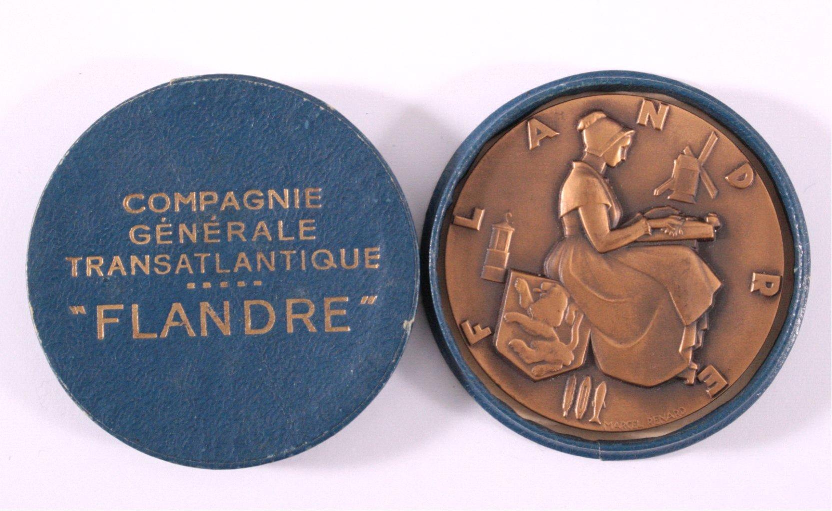 Bronzemedaille, Marcel Renard, FLANDRE