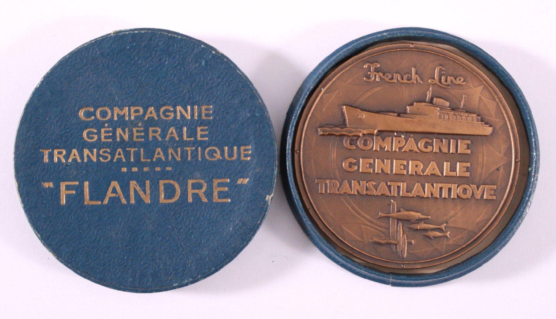 Bronzemedaille, Marcel Renard, FLANDRE-1