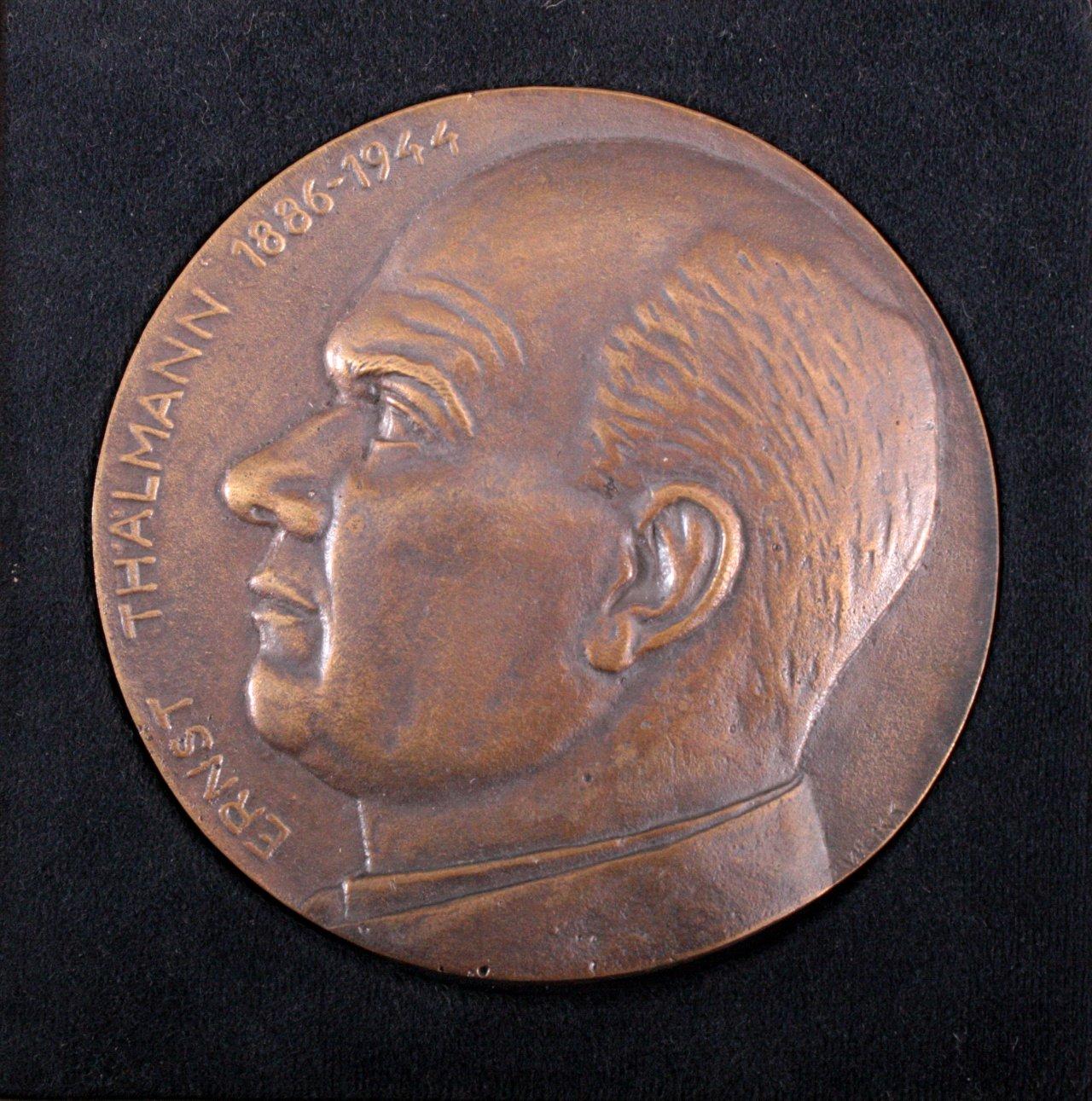 Große Bronzemedaille Ernst Thälmann