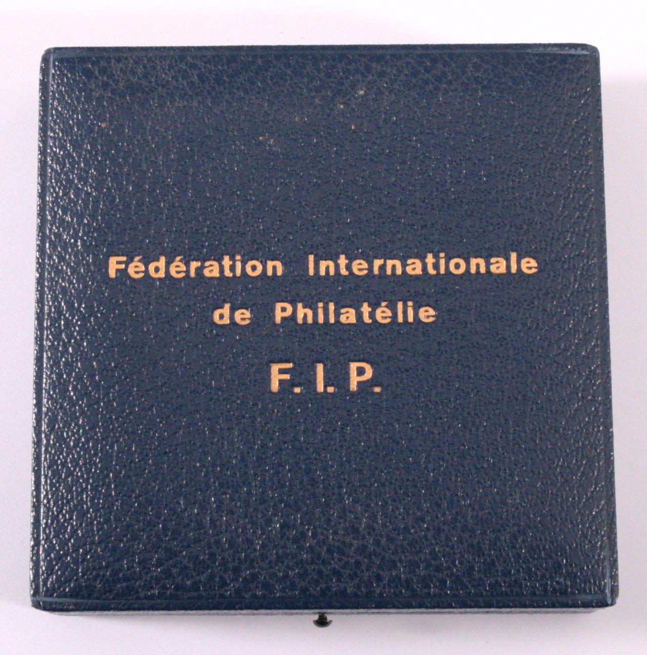 Medaille Fédération Internationale de Philatélie-2