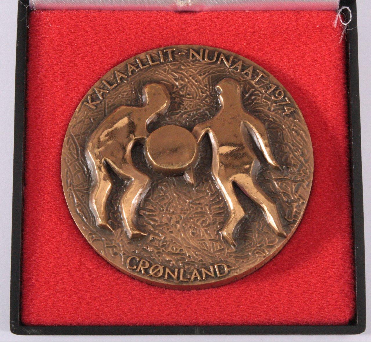 Künstler Medaille Grönland, Sven Havsteen-Mikkelsen