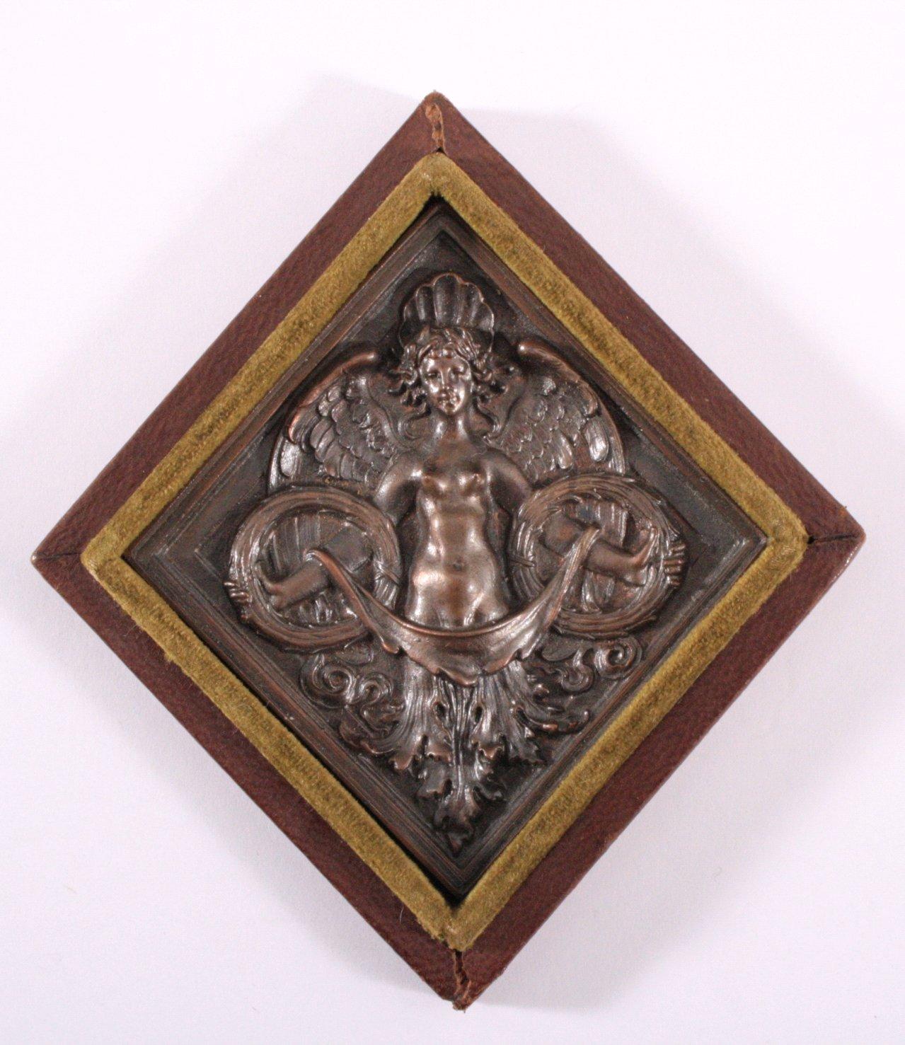 Plakette Deutsch Nationale Kunstgewerbeausstellung 1888