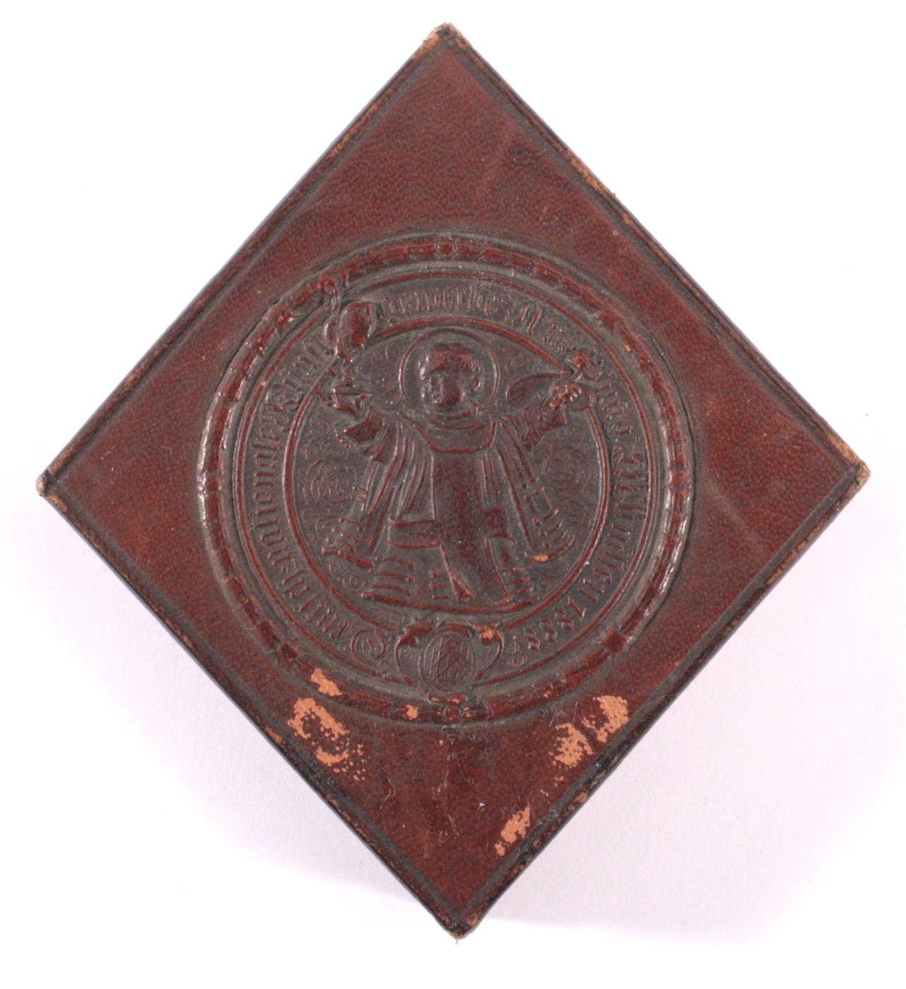 Plakette Deutsch Nationale Kunstgewerbeausstellung 1888-2