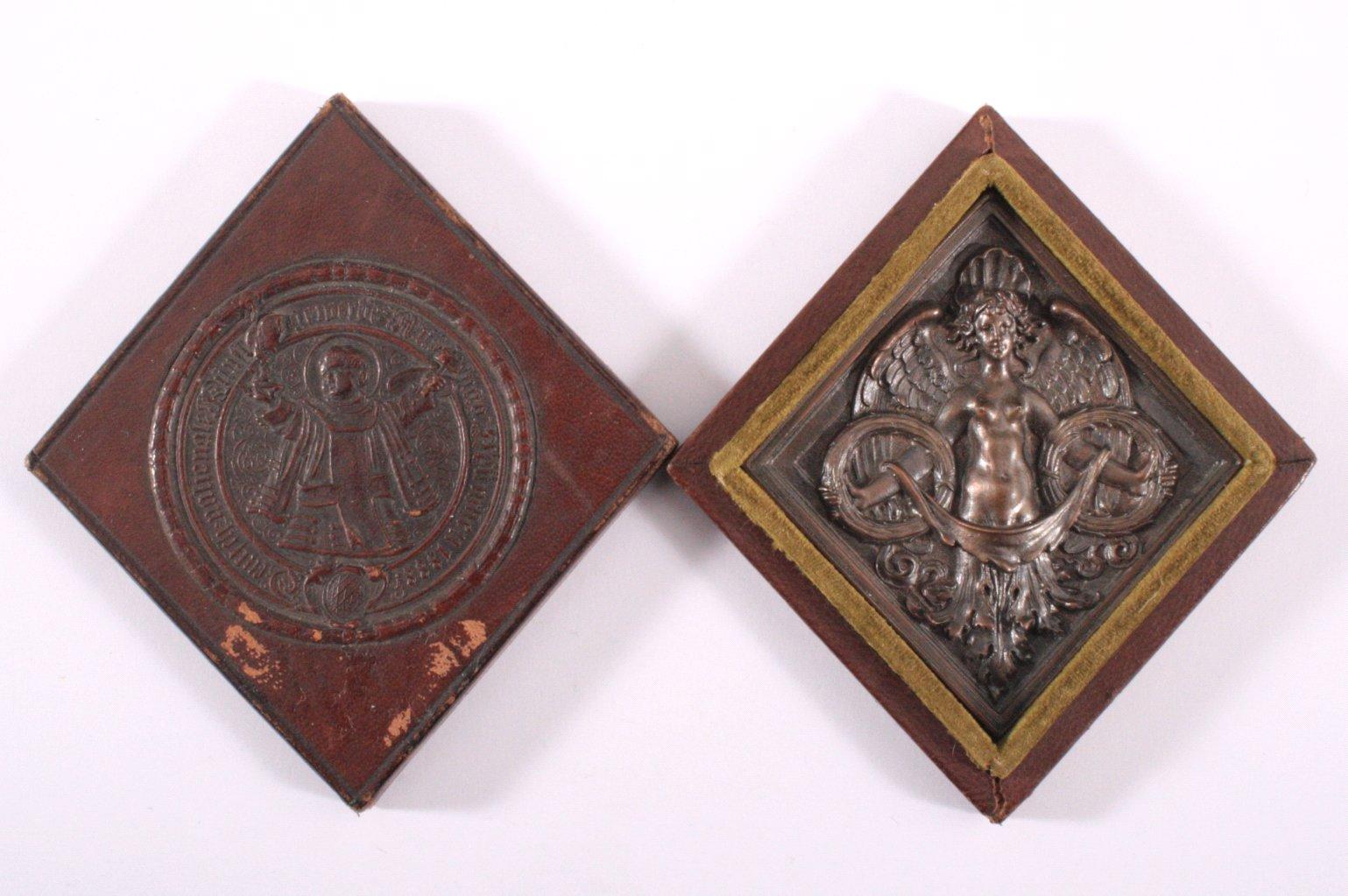 Plakette Deutsch Nationale Kunstgewerbeausstellung 1888-3