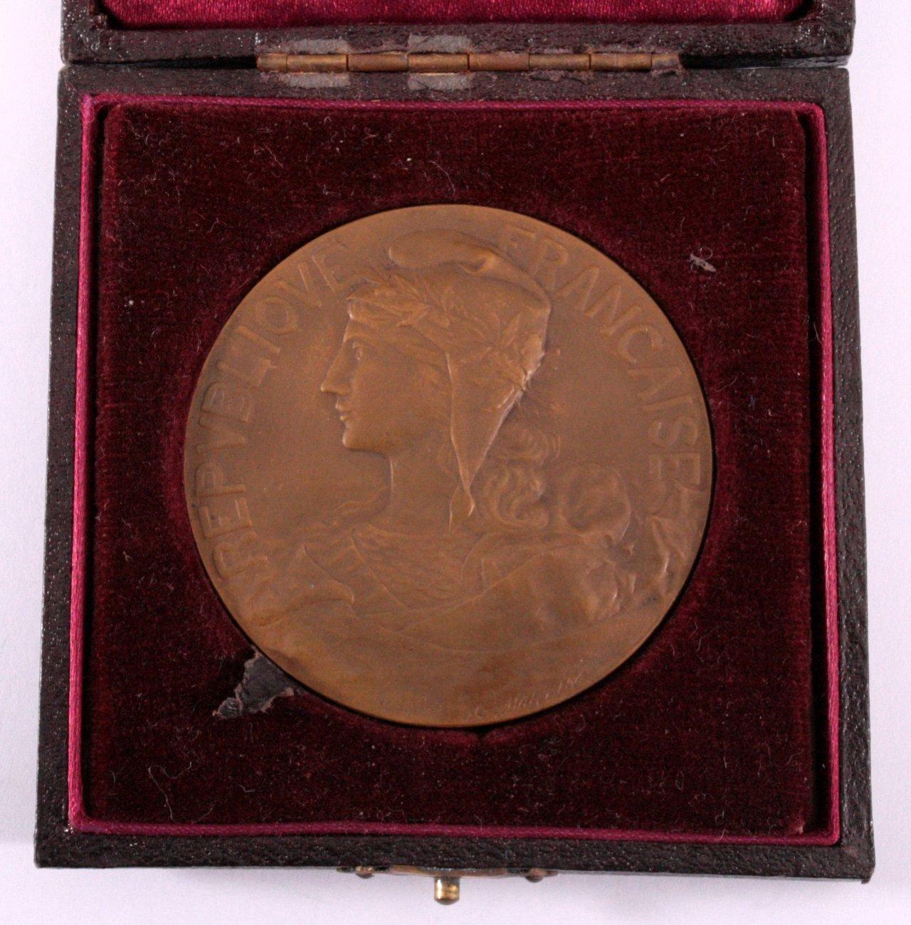 Bronze Medaille Frankreich, G. Martin