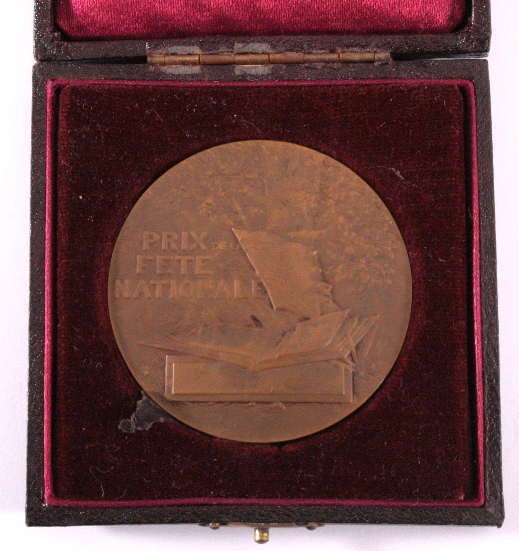 Bronze Medaille Frankreich, G. Martin-1