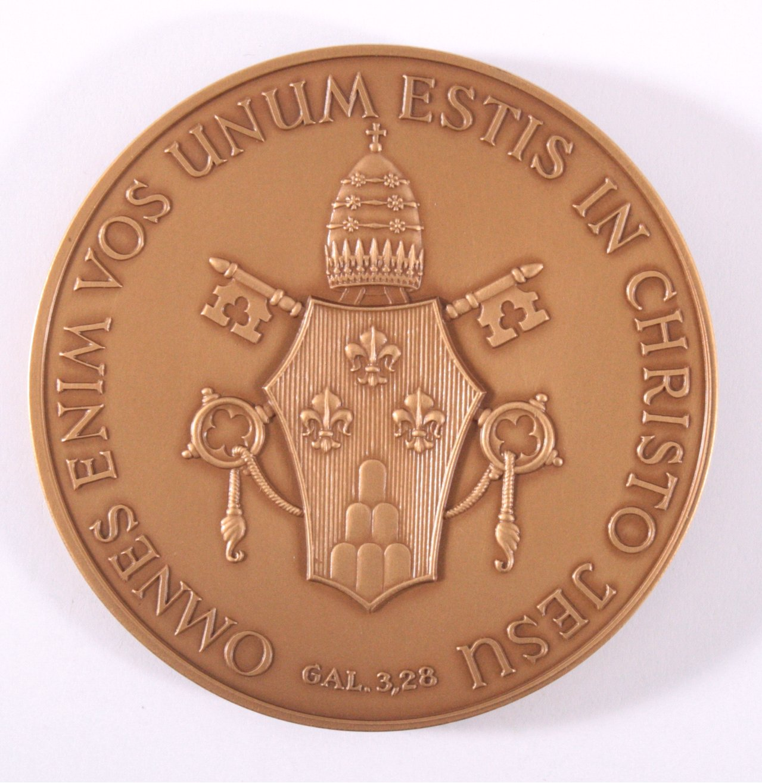 Medaille Vatikan Gedenkprägung Papst Paulus VI.-1