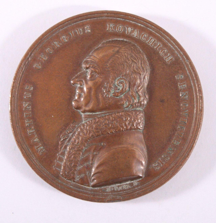 Personenmedaille Martin Georg Kovachich (1743-1821)