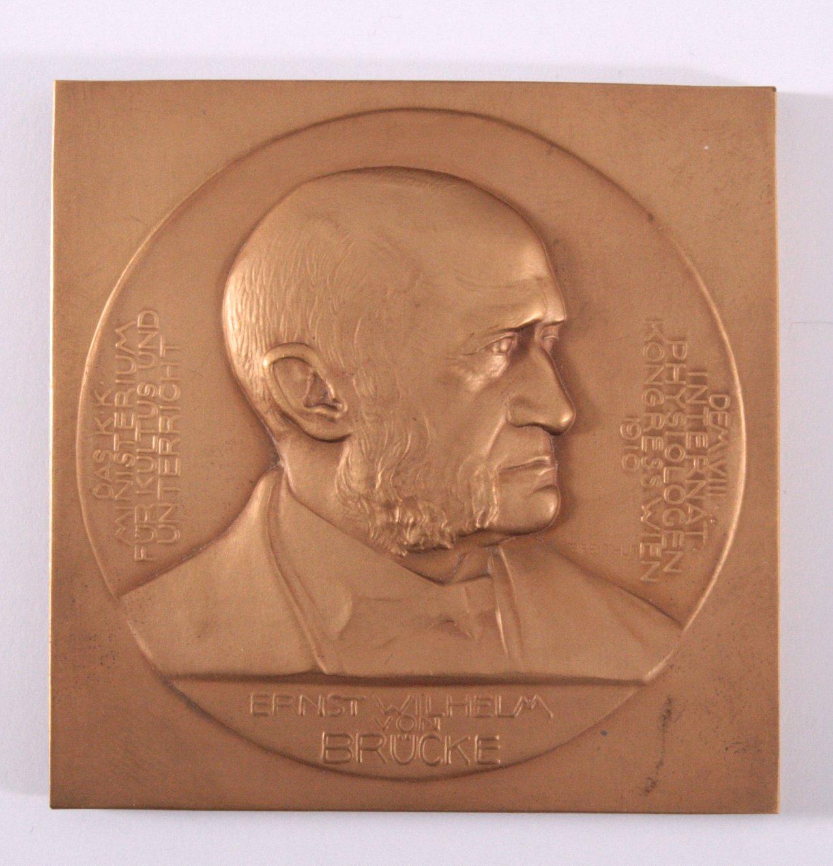 Personemedaille Ernst Wilhelm von Brücke