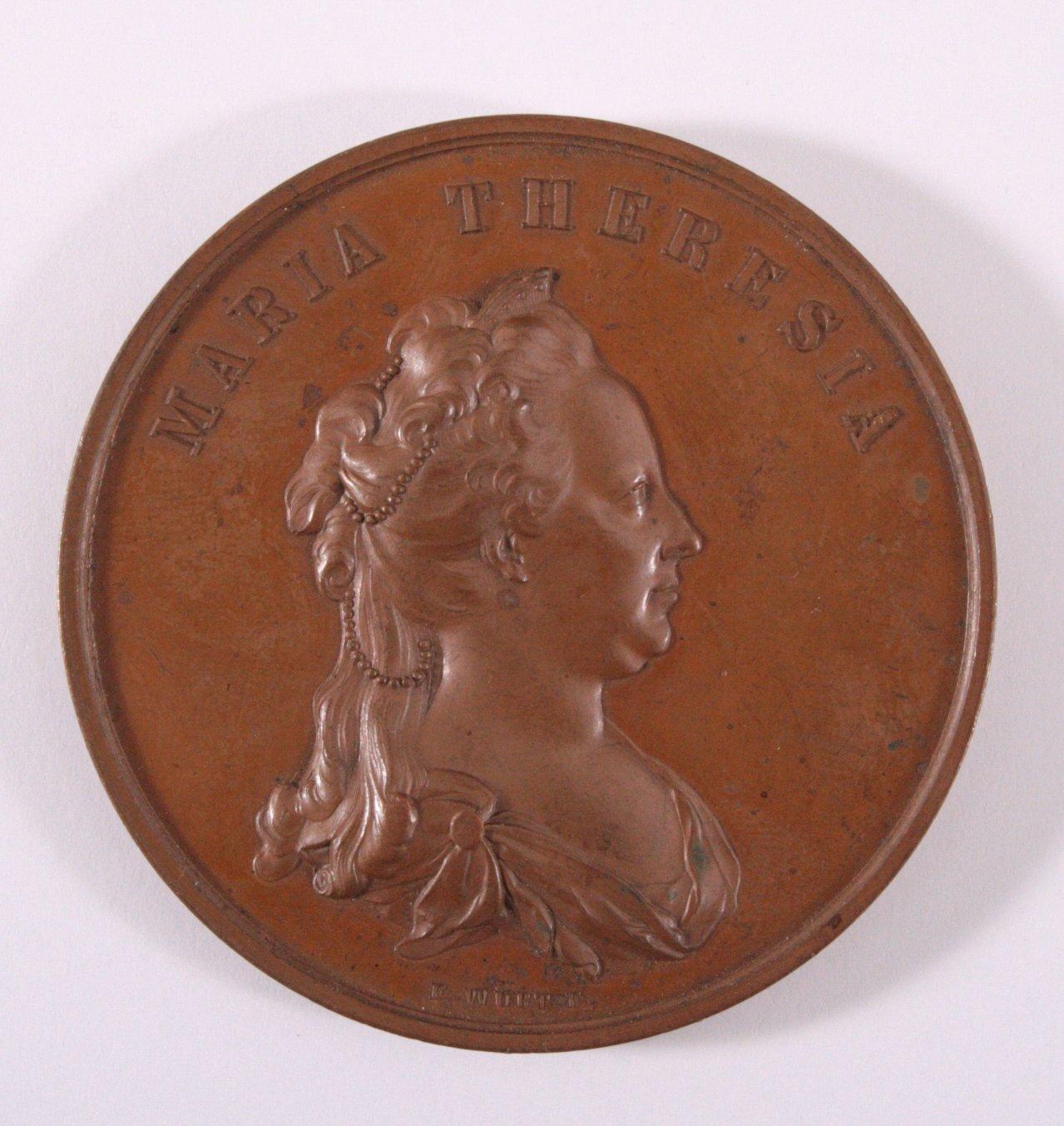 Medaille Maria Theresia, 1862