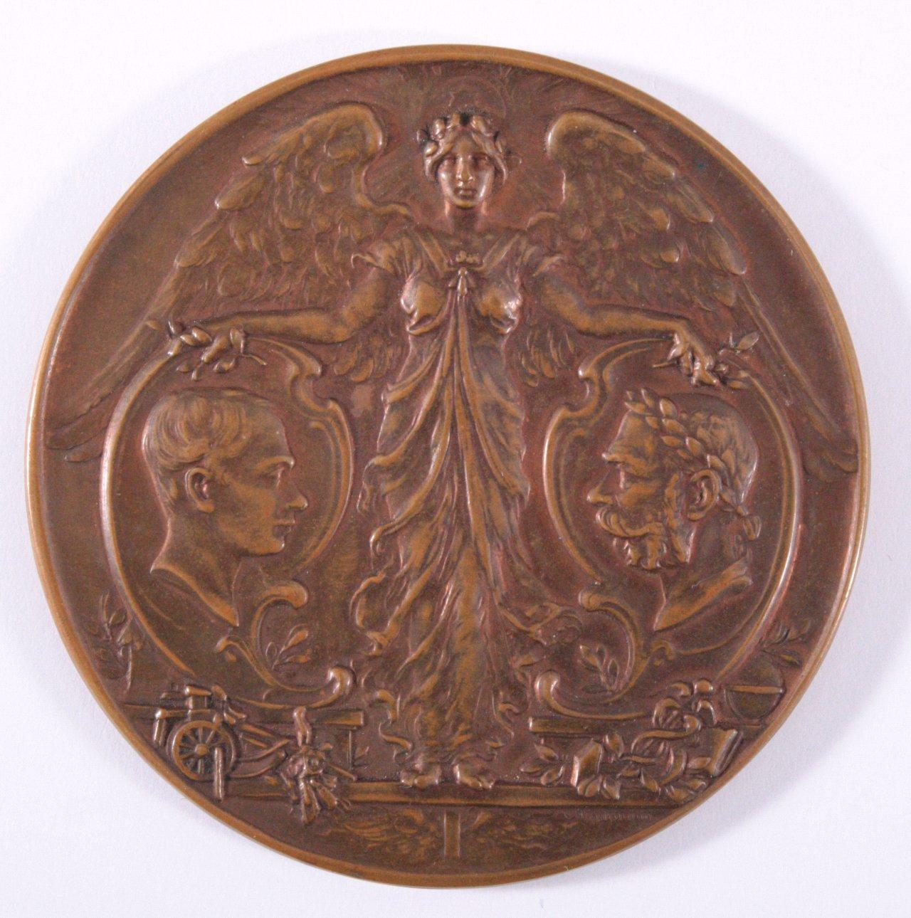 Medaille Kaiser Franz Joseph I, 1898