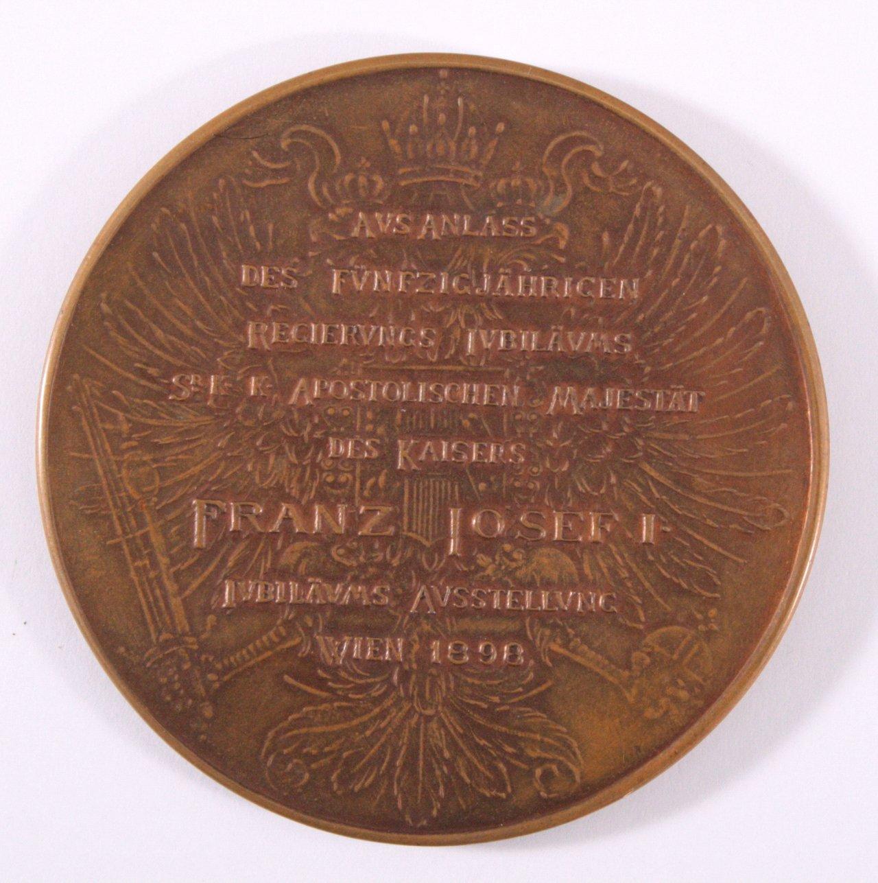 Medaille Kaiser Franz Joseph I, 1898-1